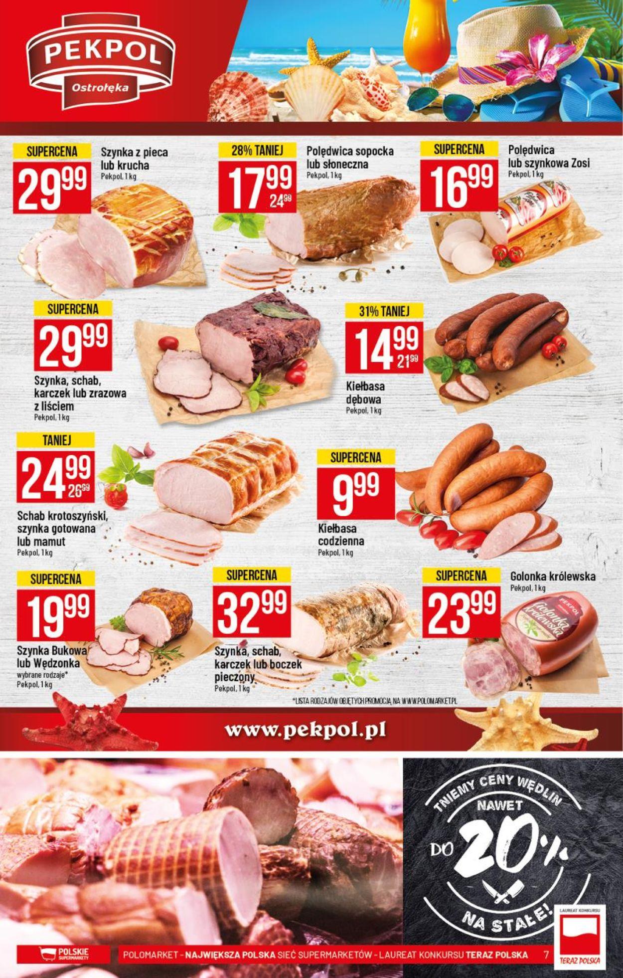 Gazetka promocyjna Polomarket - 29.07-04.08.2020 (Strona 7)