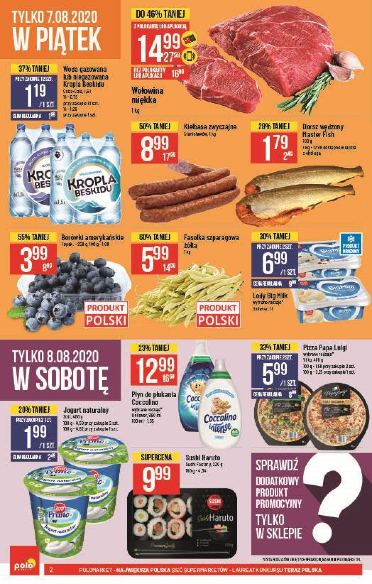 Gazetka promocyjna Polomarket - 05.08-11.08.2020 (Strona 2)