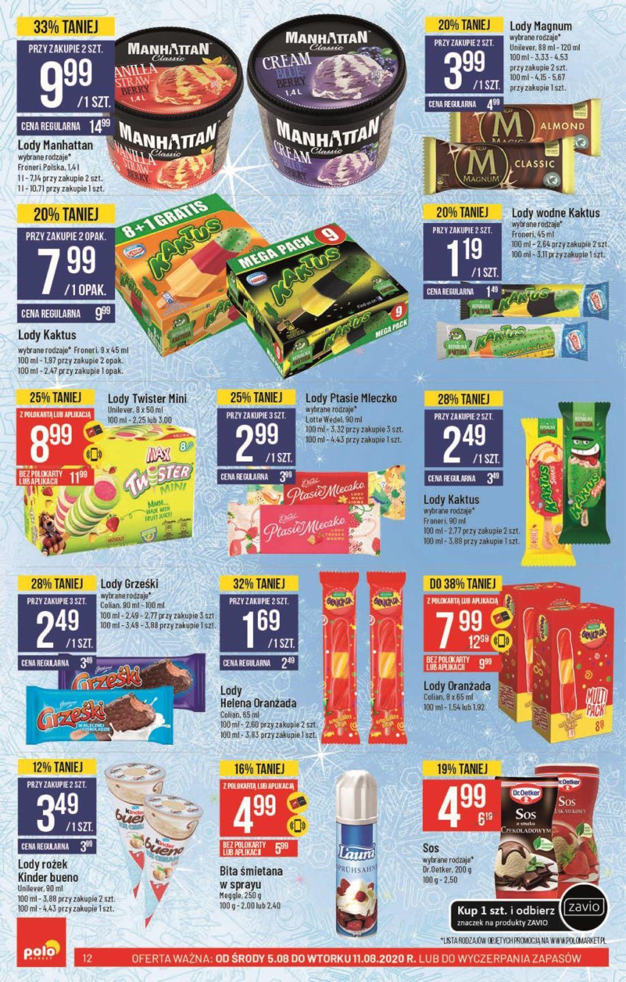 Gazetka promocyjna Polomarket - 05.08-11.08.2020 (Strona 12)
