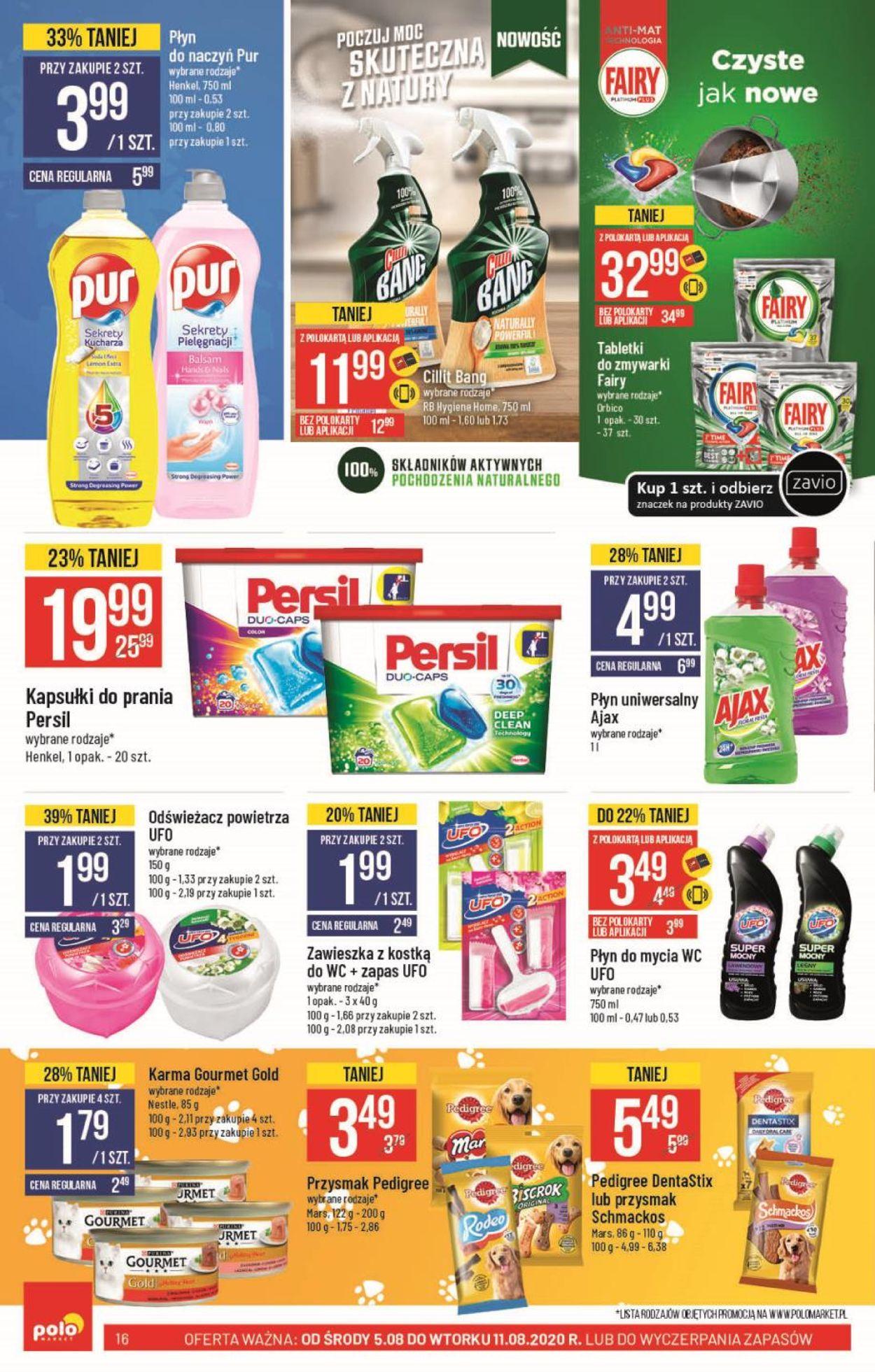 Gazetka promocyjna Polomarket - 05.08-11.08.2020 (Strona 16)