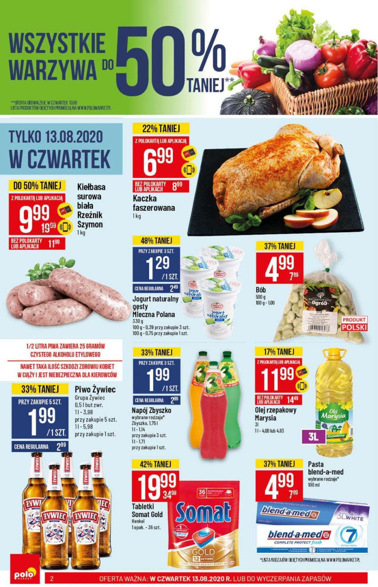 Gazetka promocyjna Polomarket - 12.08-18.08.2020 (Strona 2)