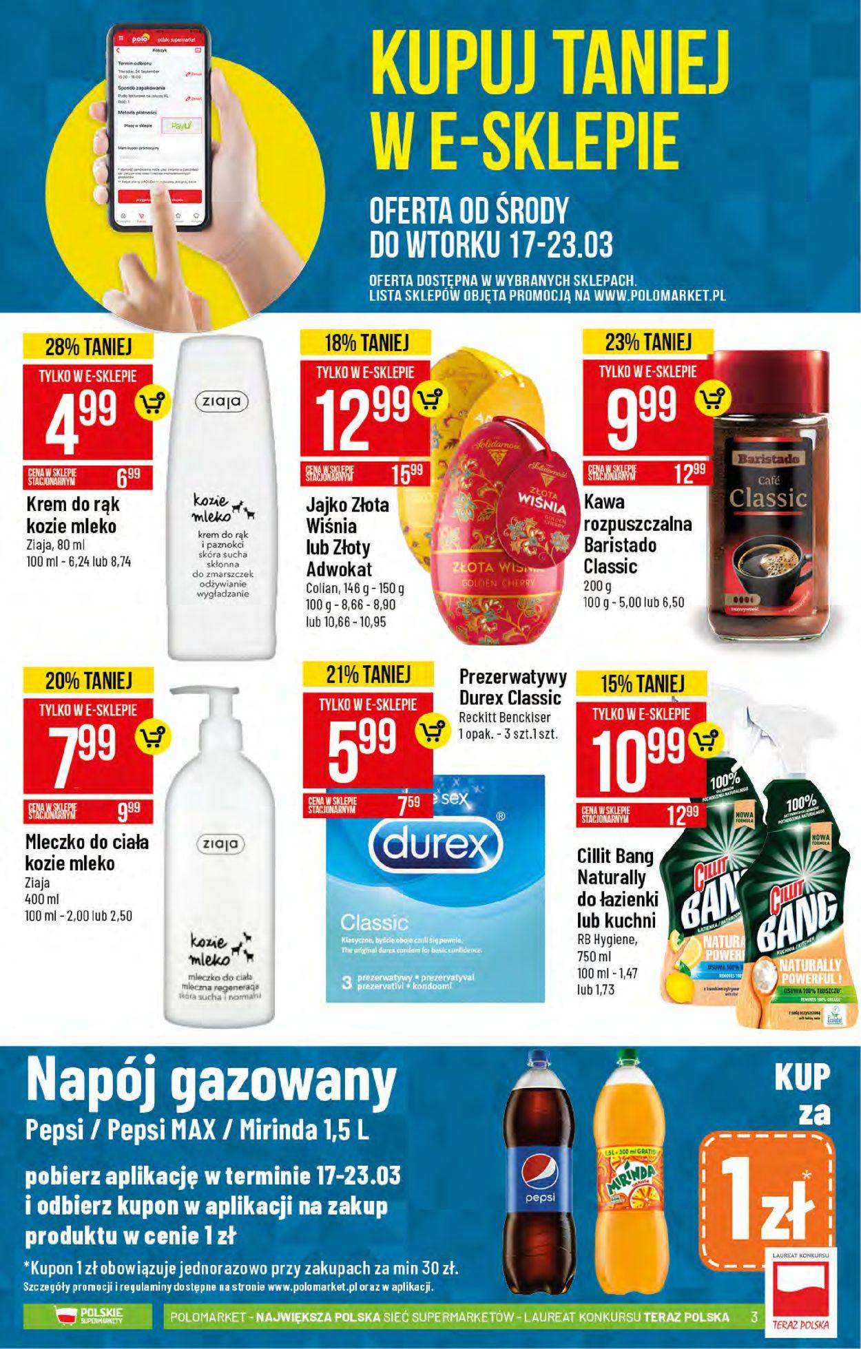 Gazetka promocyjna Polomarket - 17.03-23.03.2021 (Strona 3)
