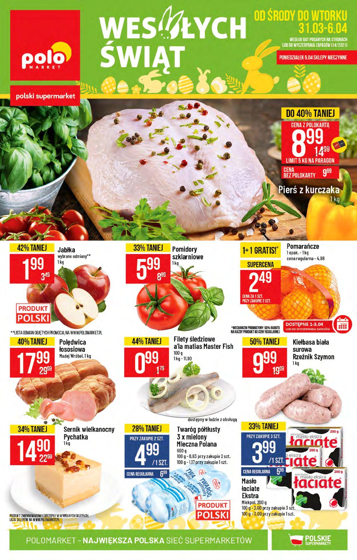 Gazetka promocyjna Polomarket Wielkanoc 2021! - 31.03-06.04.2021