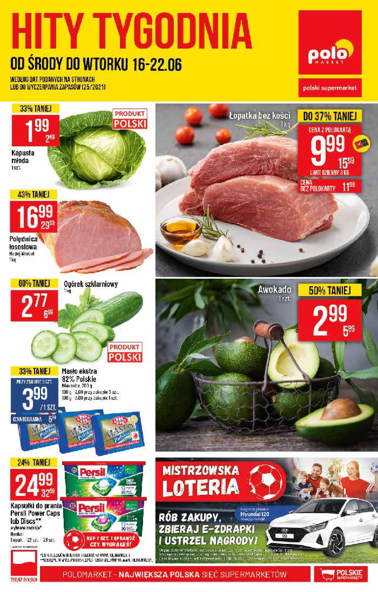 Gazetka promocyjna Polomarket - 16.06-22.06.2021