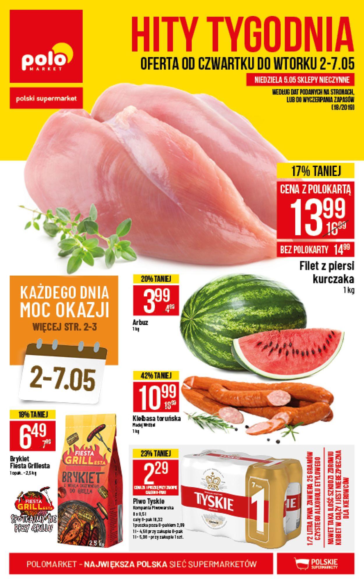 Gazetka promocyjna Polomarket - 02.05-07.05.2019