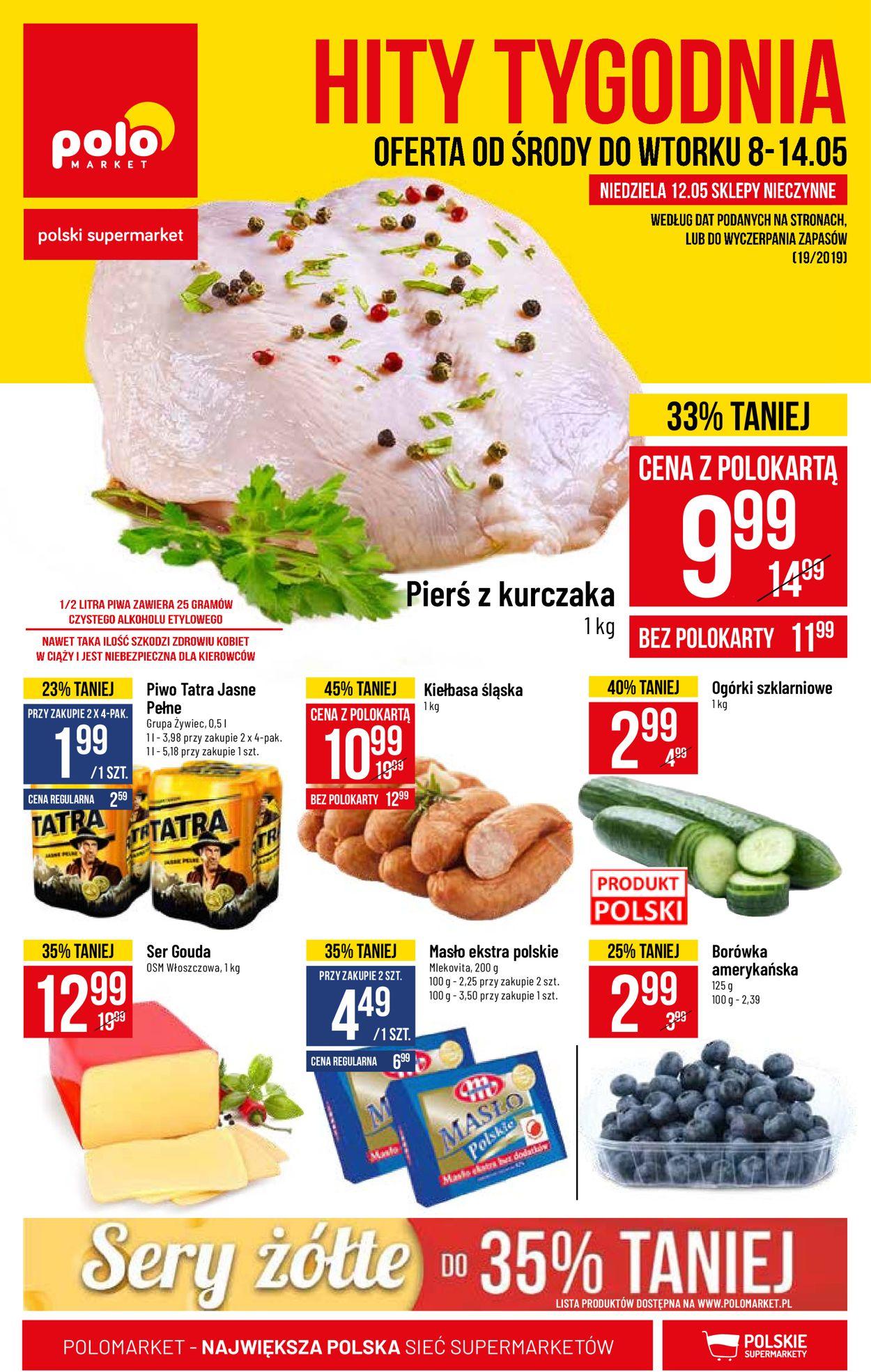 Gazetka promocyjna Polomarket - 08.05-14.05.2019