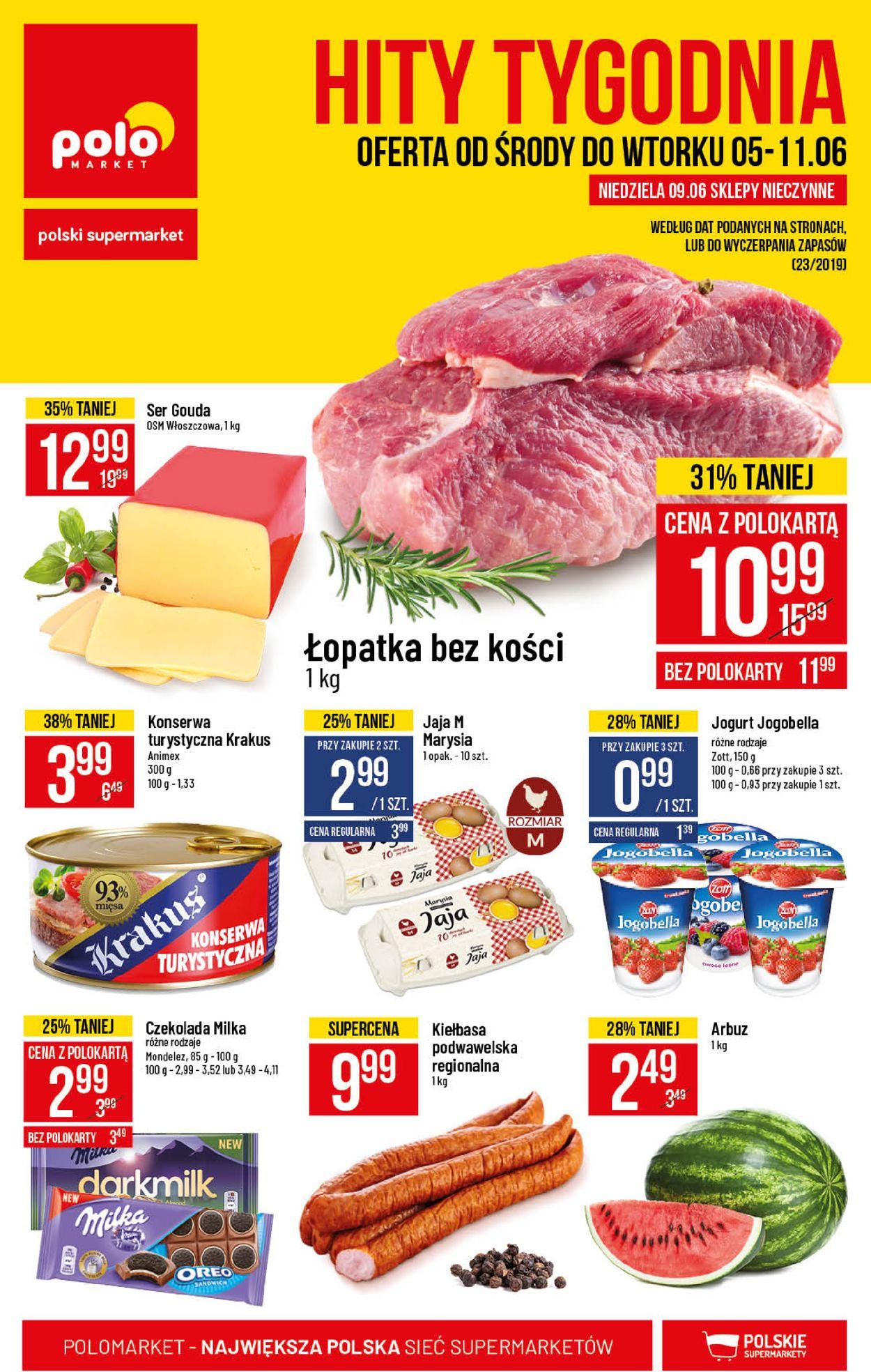 Gazetka promocyjna Polomarket - 05.06-11.06.2019