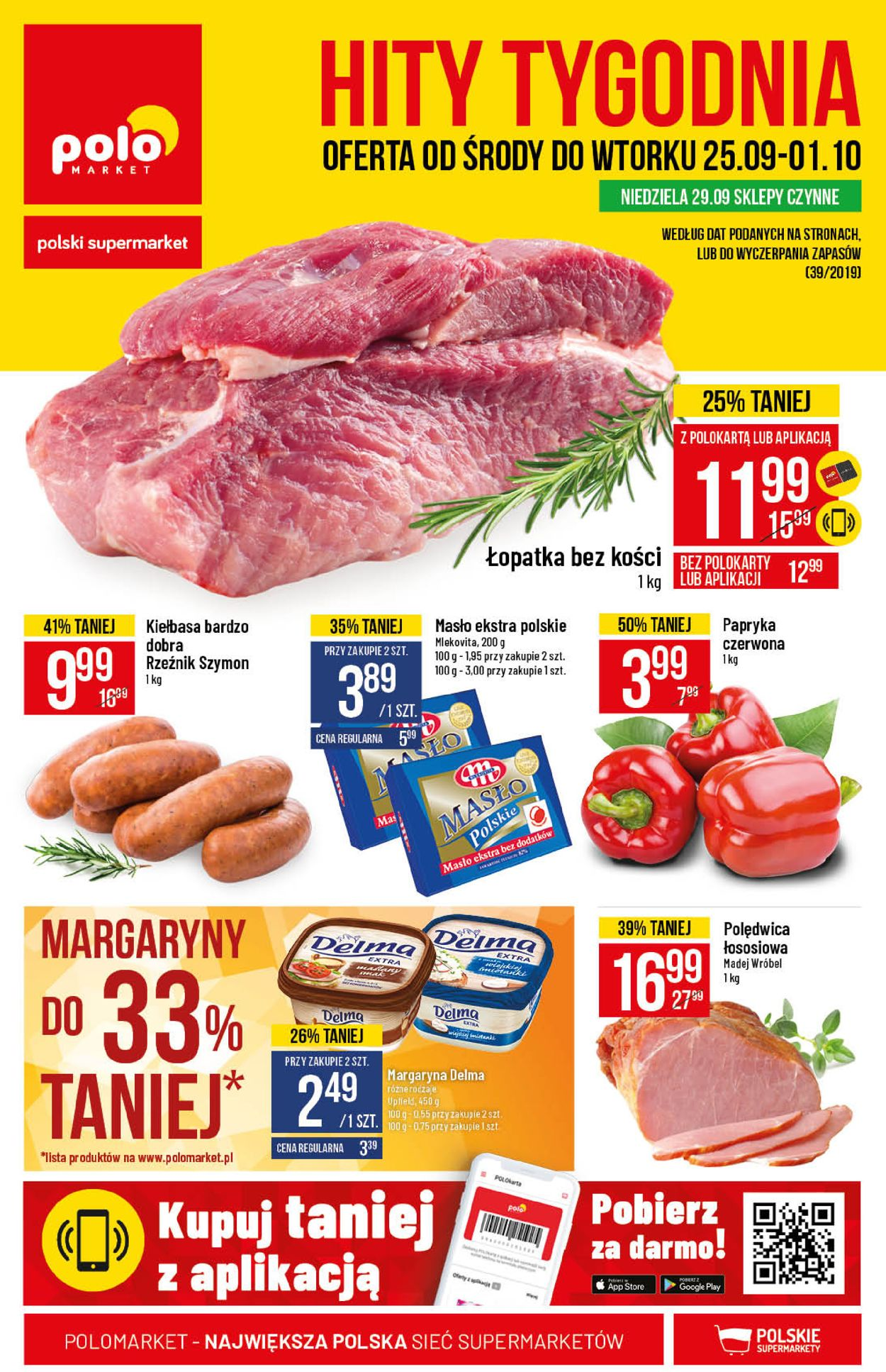 Gazetka promocyjna Polomarket - 25.09-01.10.2019
