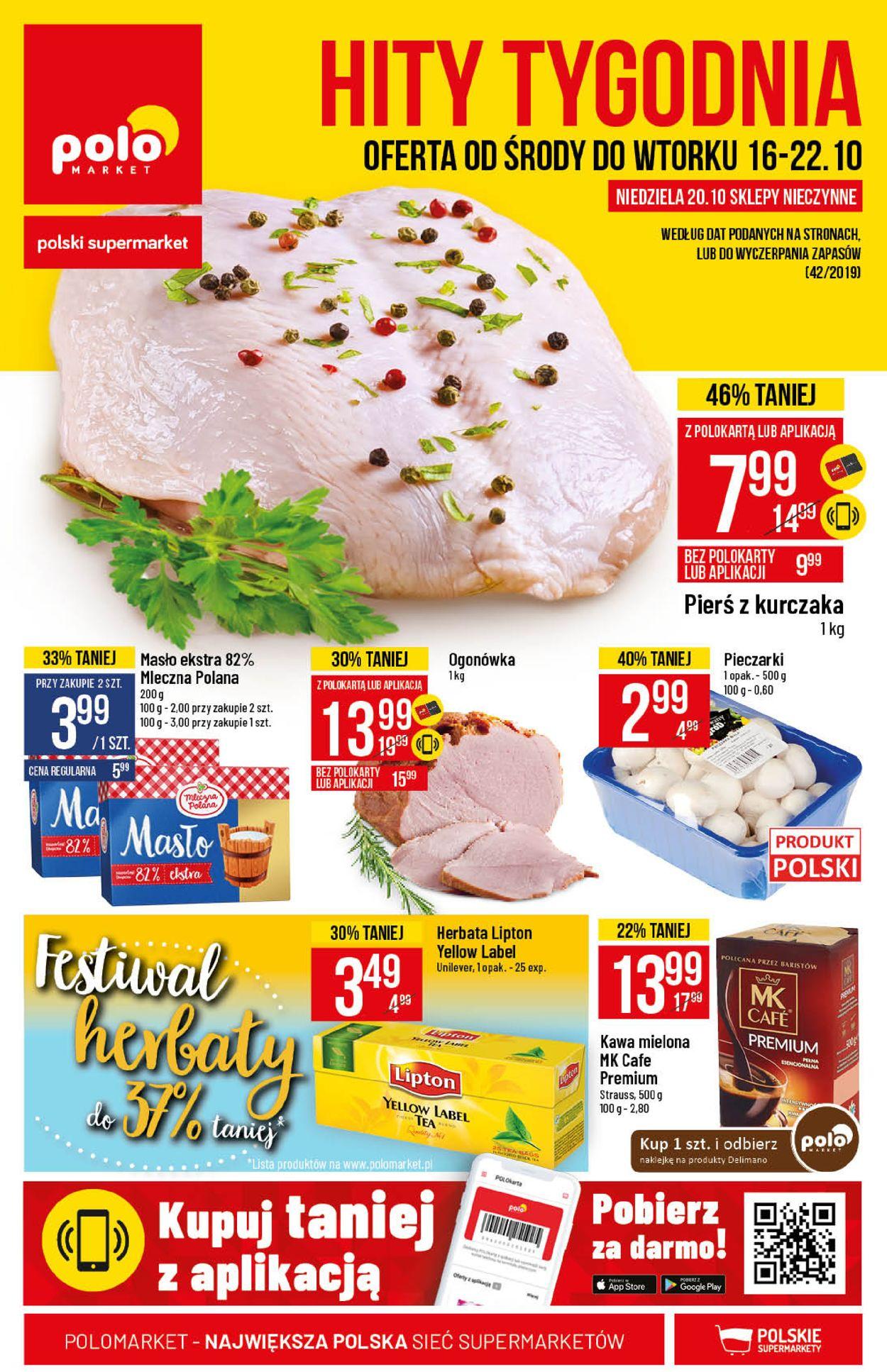 Gazetka promocyjna Polomarket - 16.10-22.10.2019