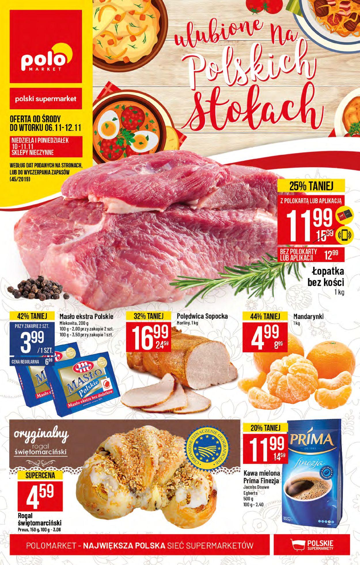 Gazetka promocyjna Polomarket - 06.11-12.11.2019