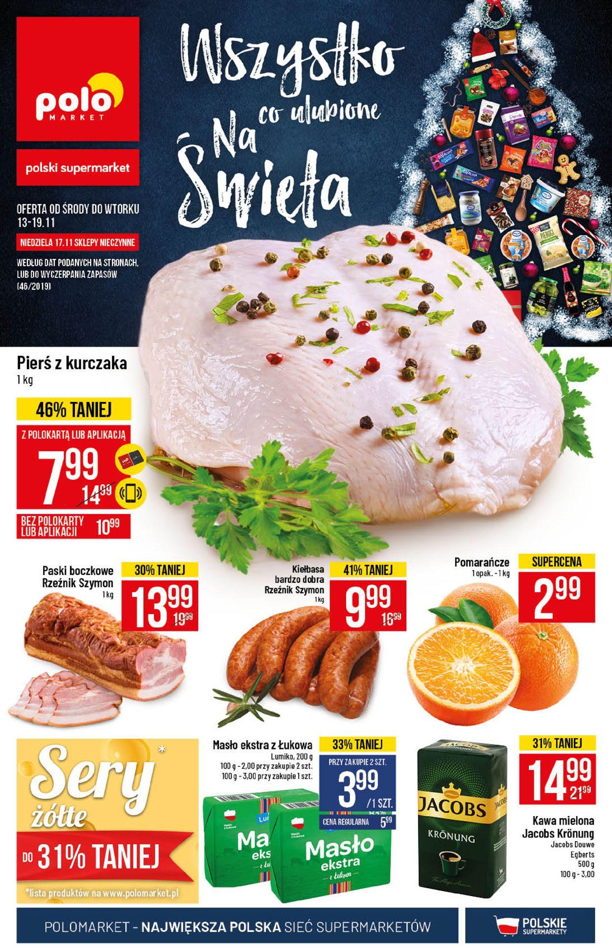 Gazetka promocyjna Polomarket - 13.11-19.11.2019