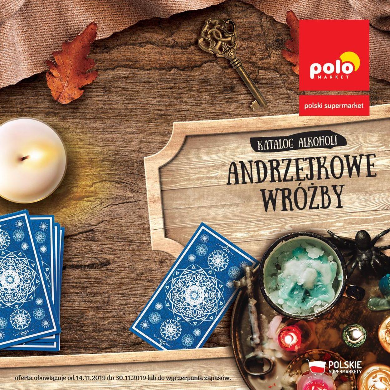 Gazetka promocyjna Polomarket - Gazetka Andrzejkowa 2019 - 14.11-30.11.2019
