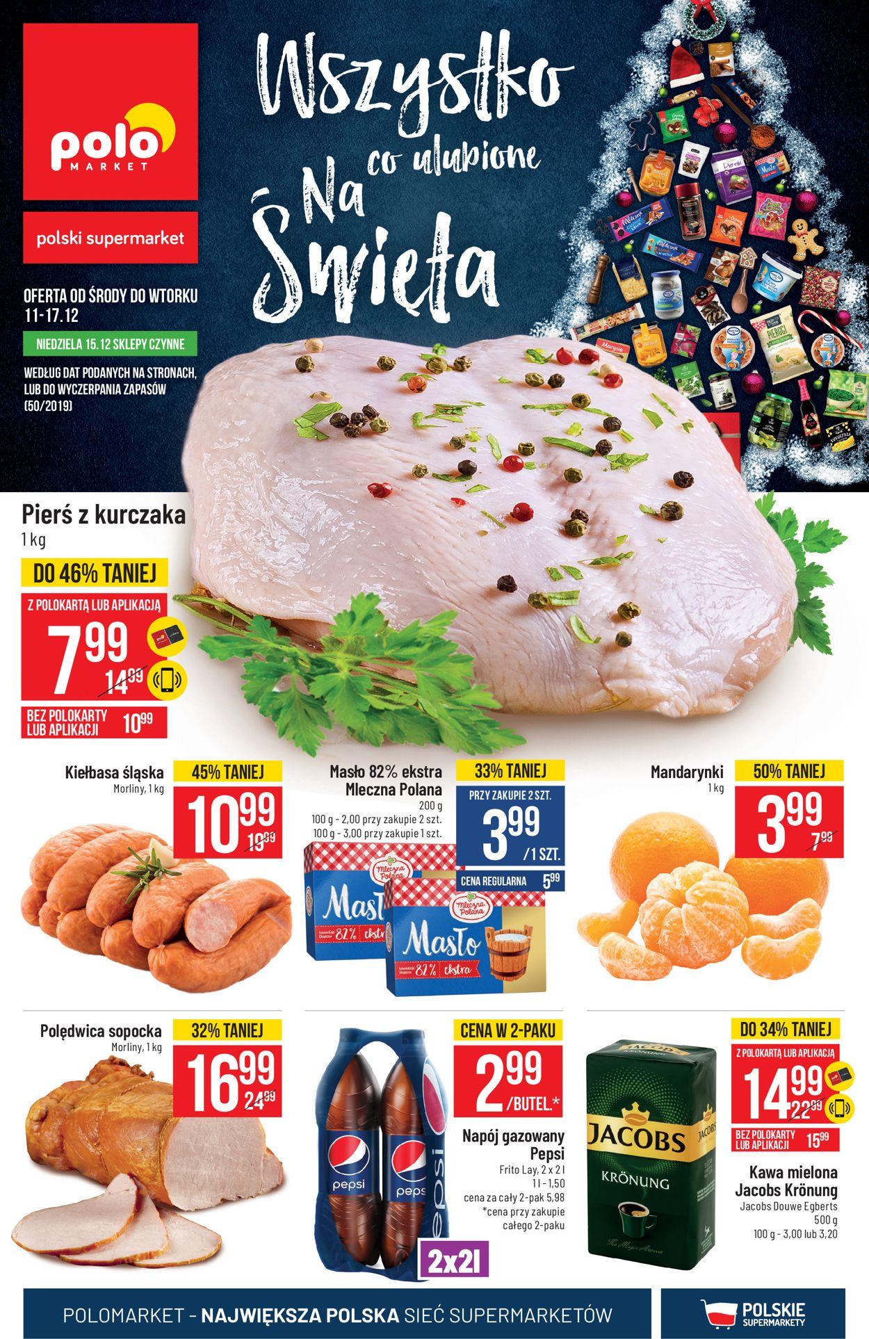 Gazetka promocyjna Polomarket - Gazetka Świąteczna 2019 - 11.12-17.12.2019