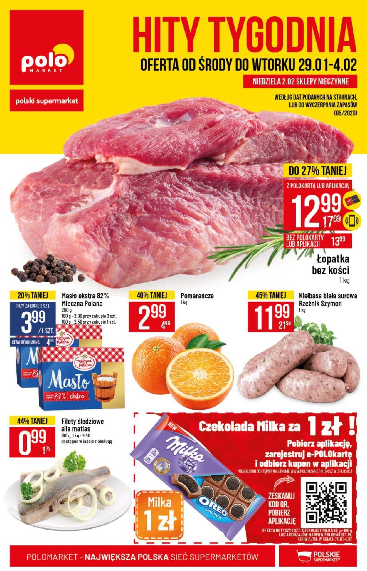 Gazetka promocyjna Polomarket - 29.01-04.02.2020