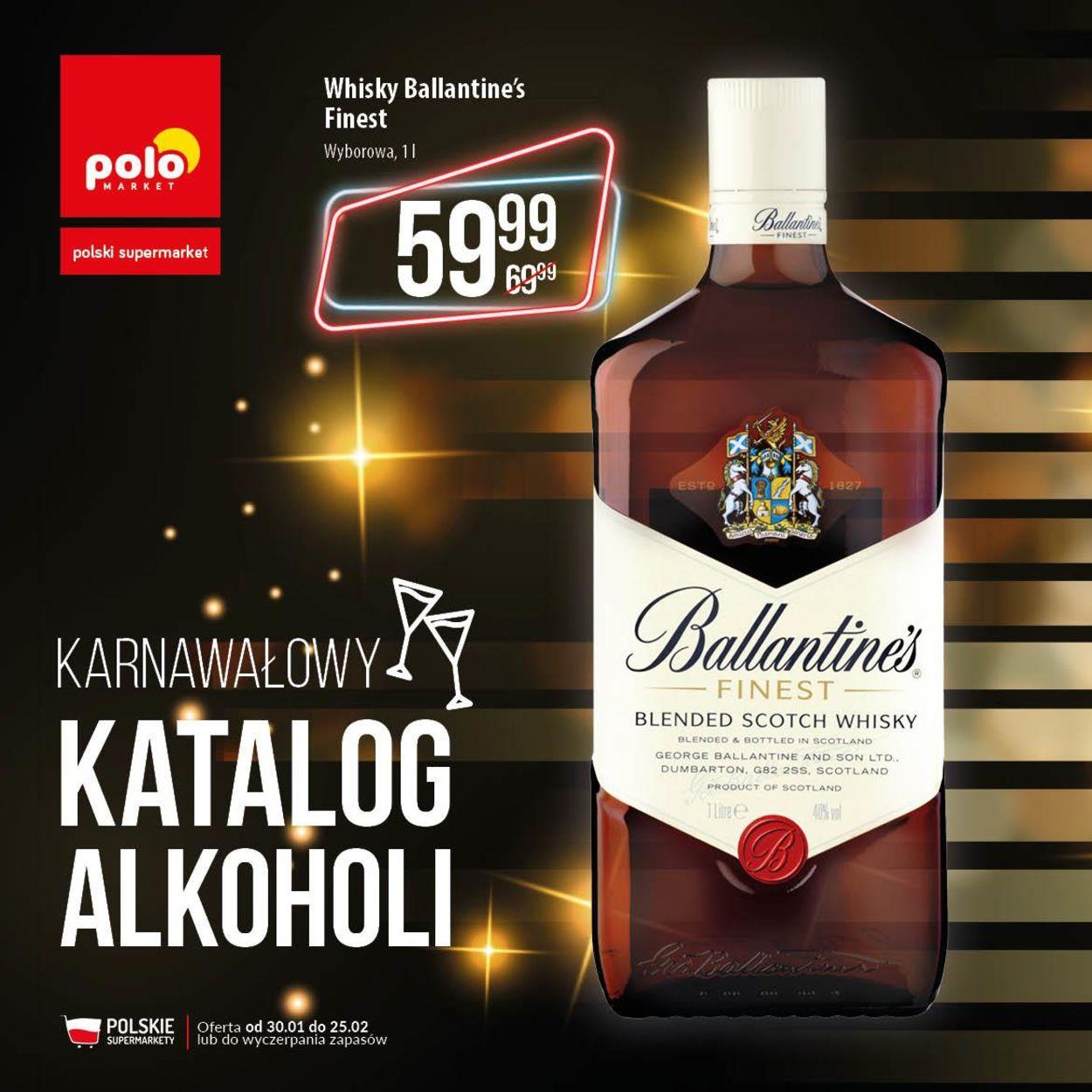 Gazetka promocyjna Polomarket - 30.01-25.02.2020
