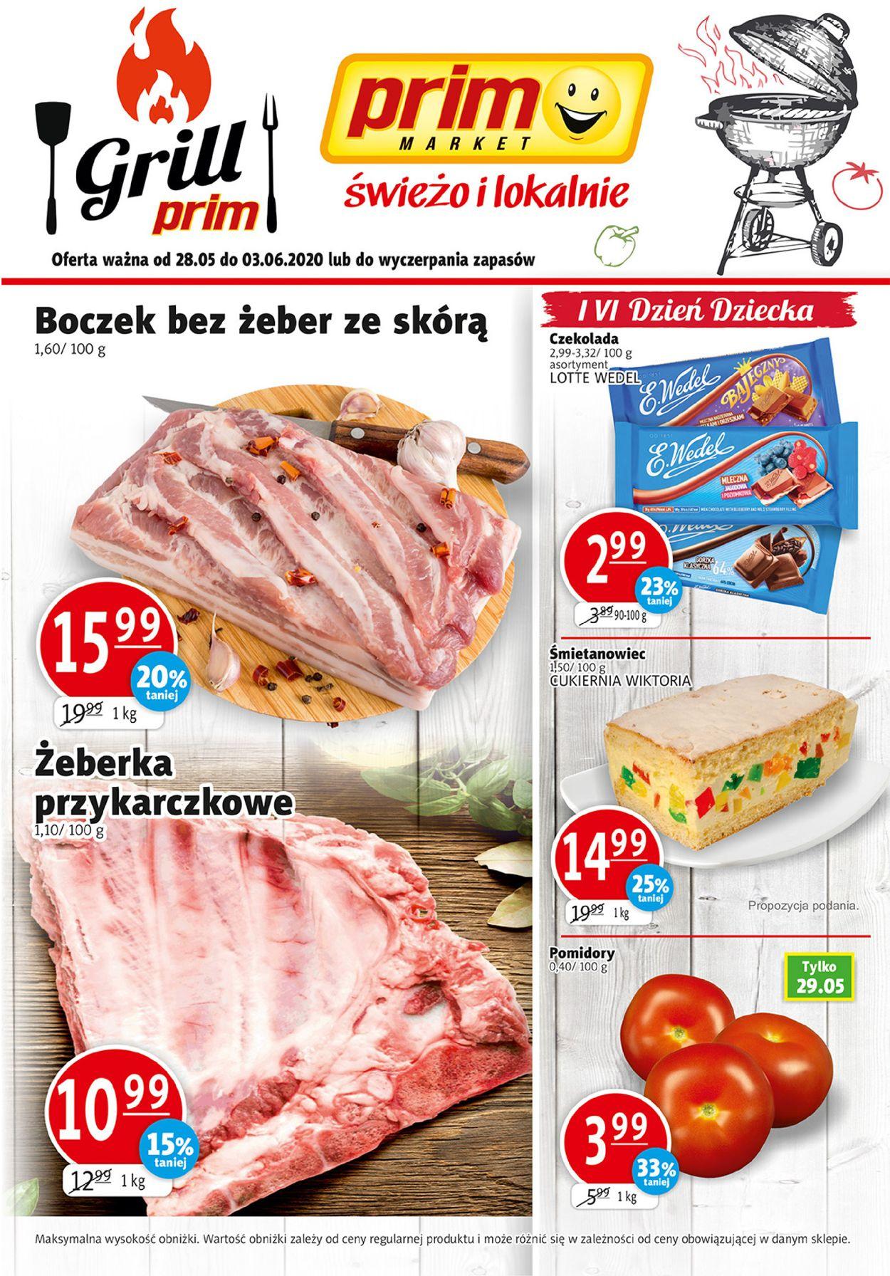 Gazetka promocyjna prim MARKET - 28.05-03.06.2020