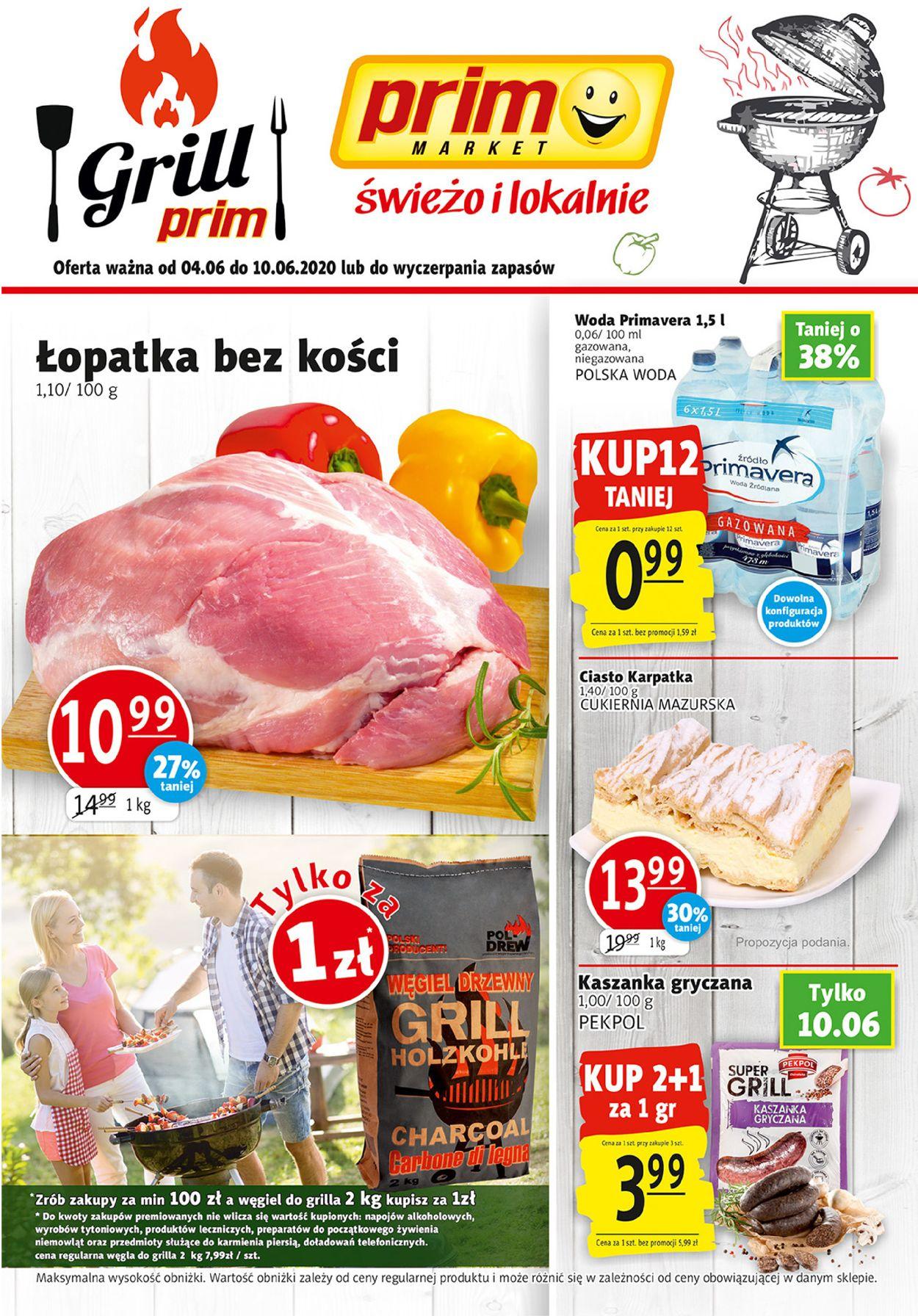 Gazetka promocyjna prim MARKET - 04.06-10.06.2020