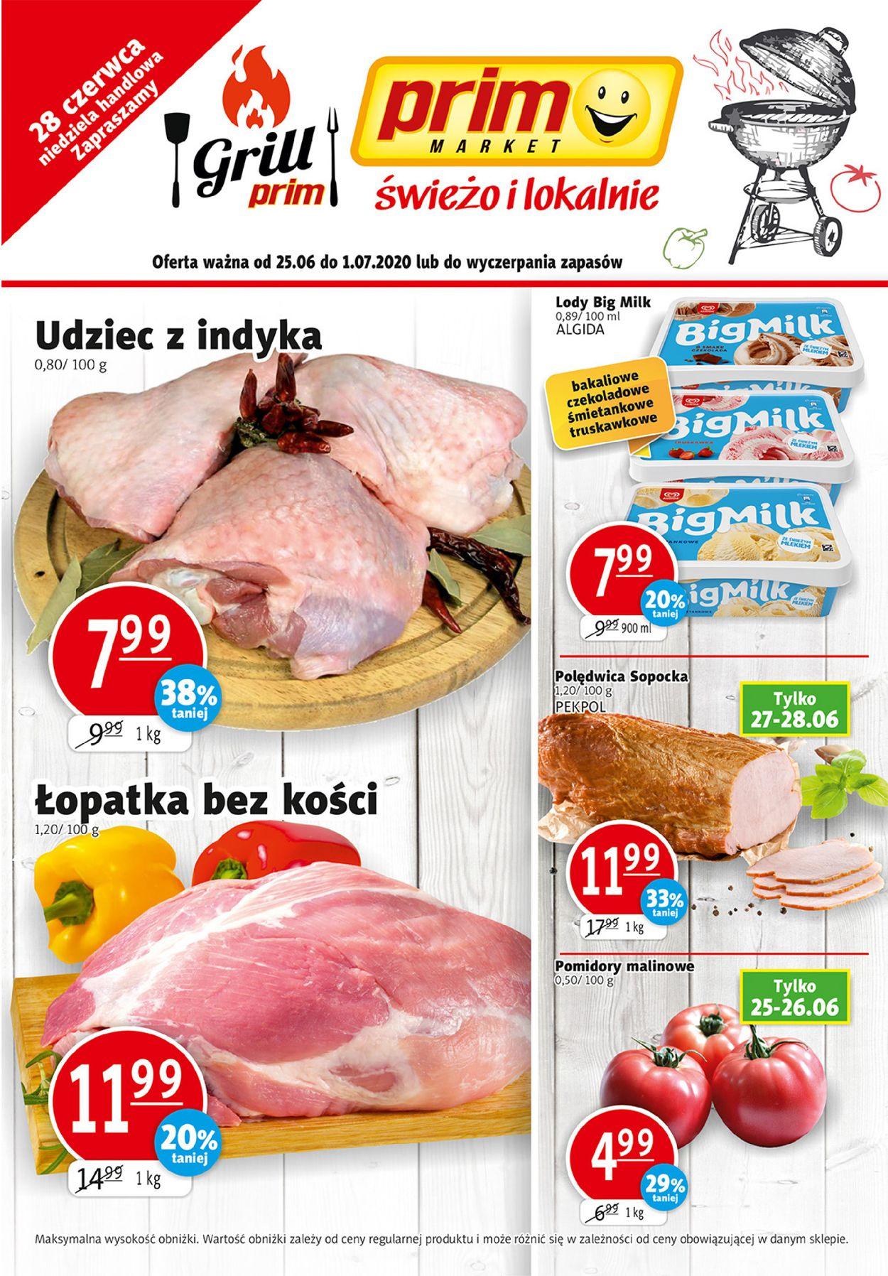 Gazetka promocyjna prim MARKET - 25.06-01.07.2020