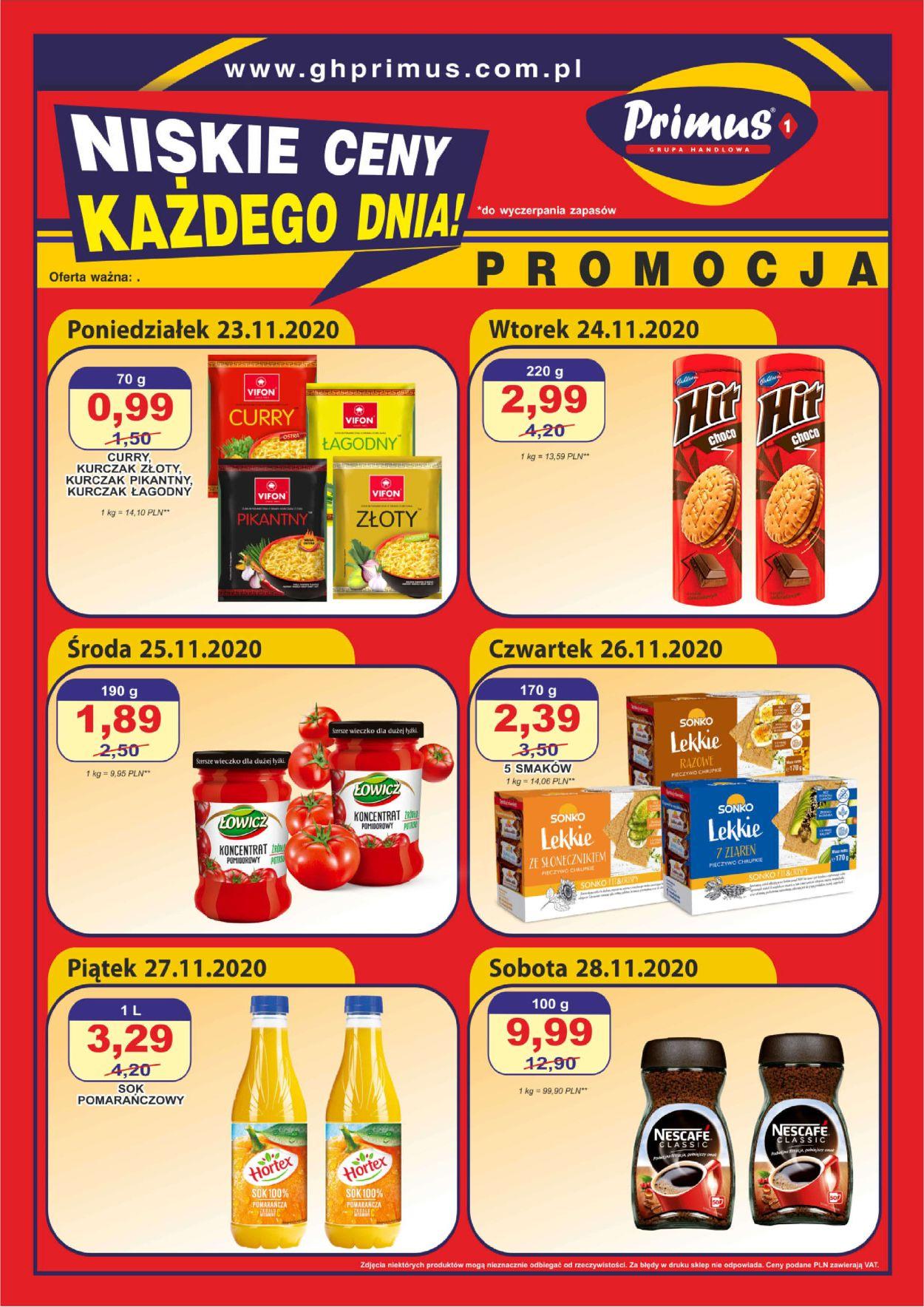 Gazetka promocyjna Primus Black Friday 2020 - 23.11-28.11.2020
