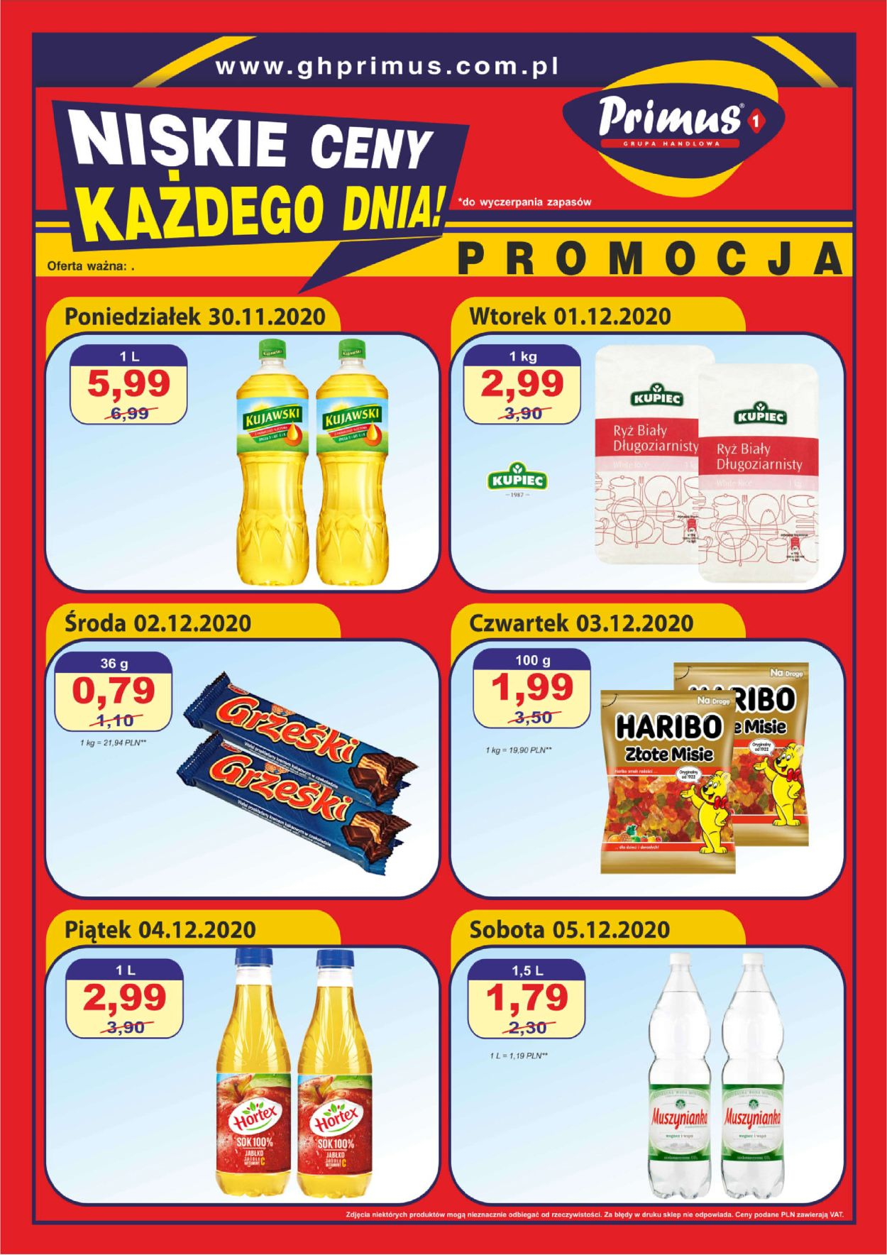Gazetka promocyjna Primus - 30.11-05.12.2020
