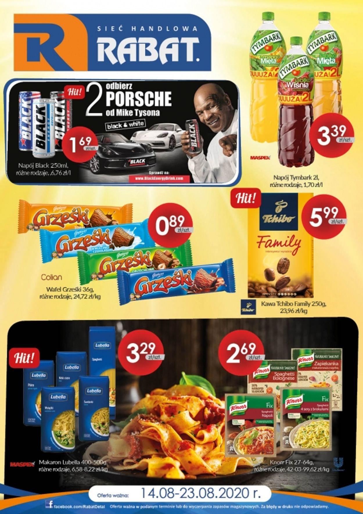 Gazetka promocyjna Rabat - 14.08-23.08.2020 (Strona 3)