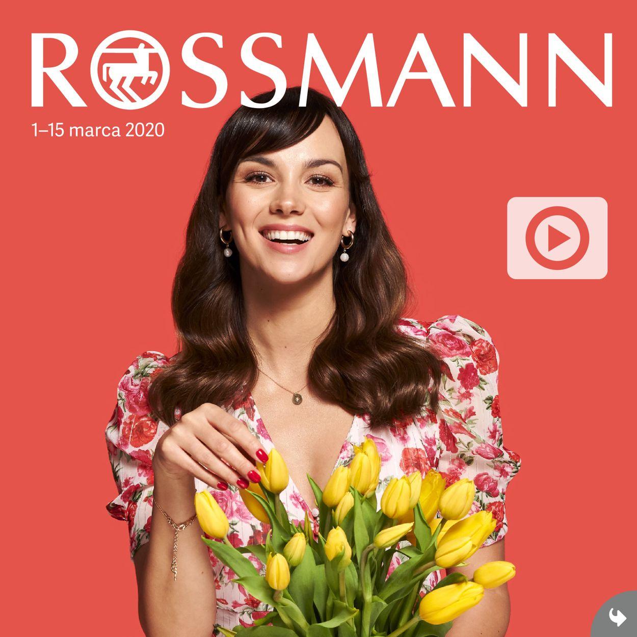 Gazetka promocyjna Rossmann - 01.03-15.03.2020