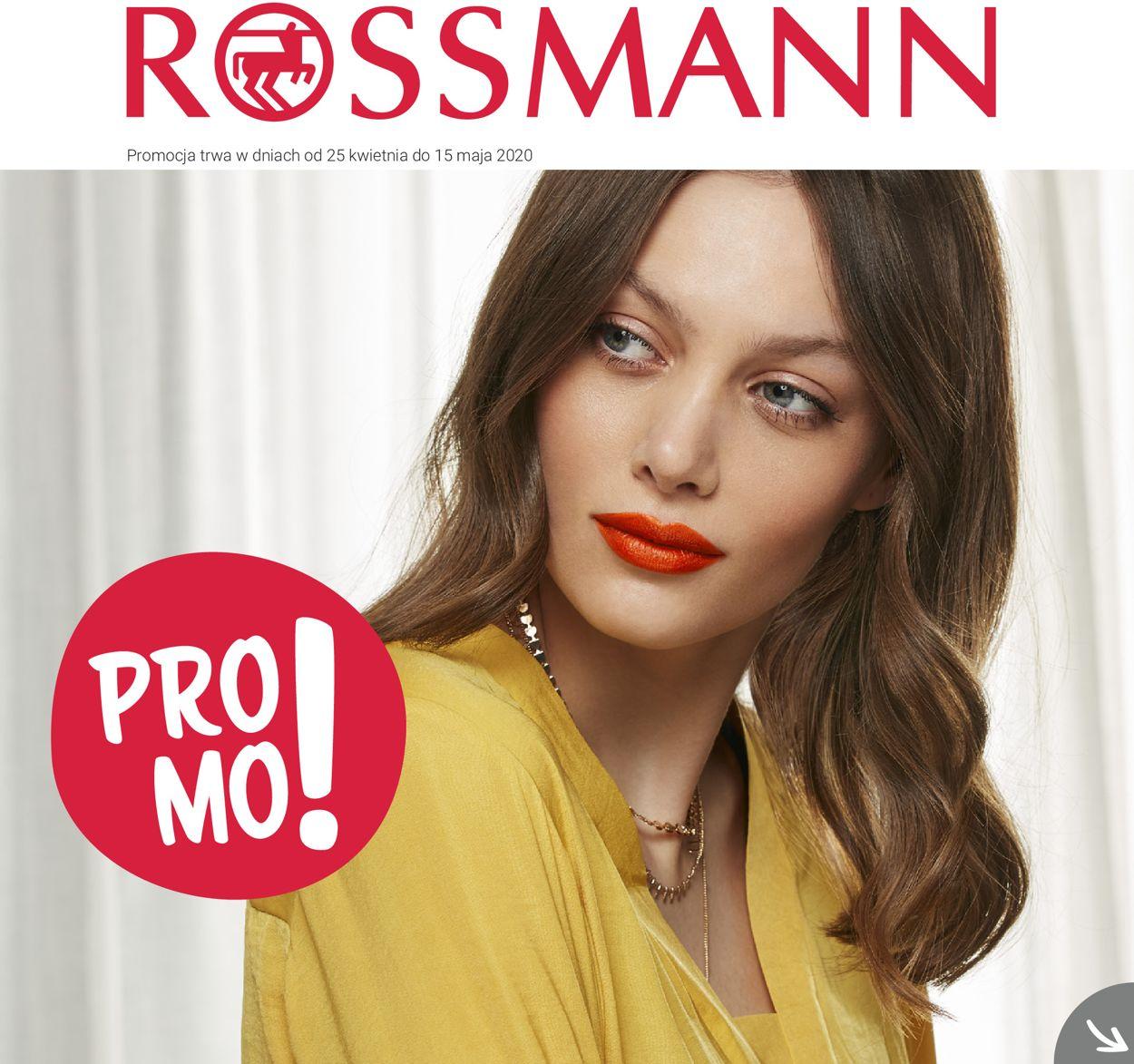 Gazetka promocyjna Rossmann - 25.04-15.05.2020