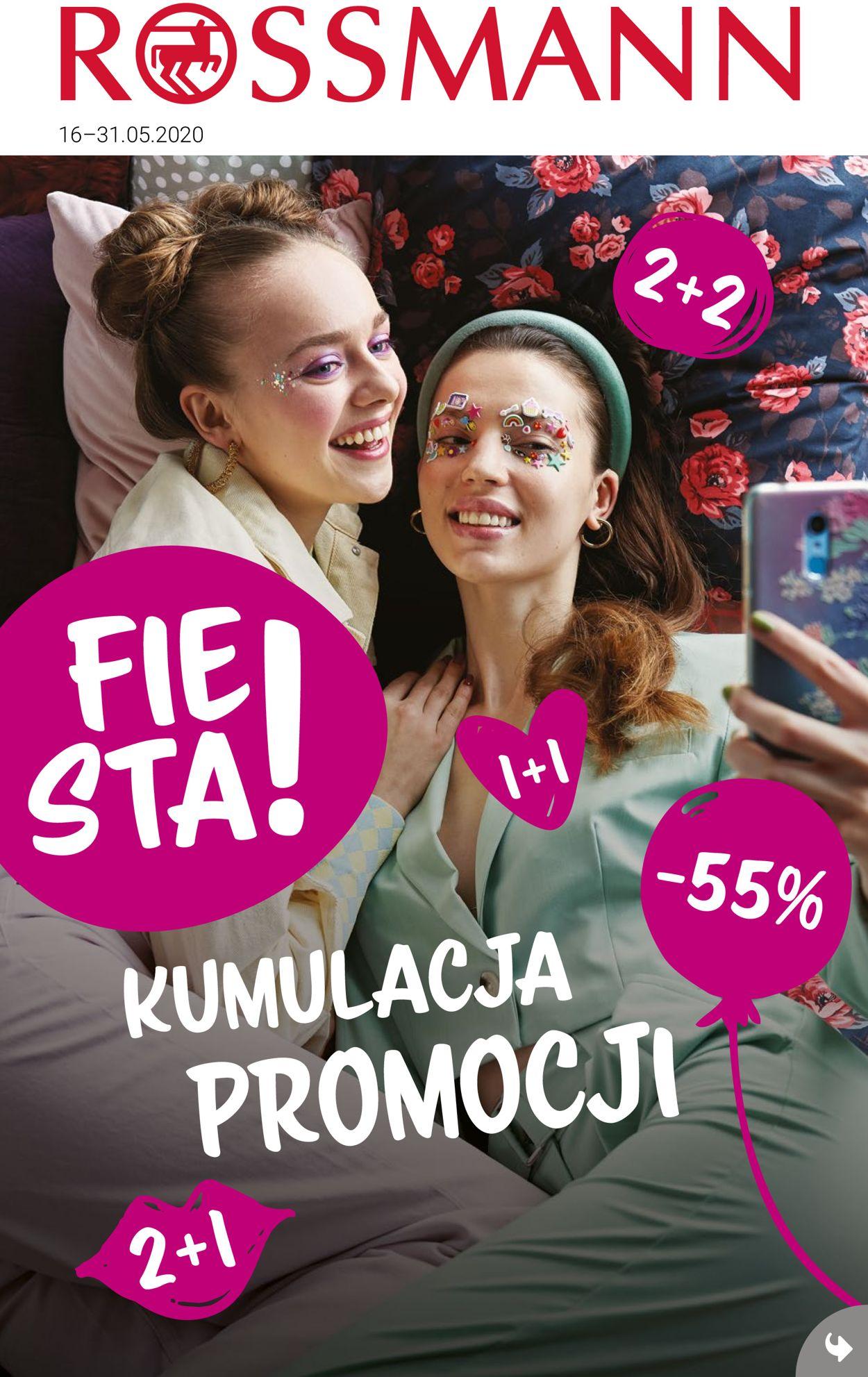 Gazetka promocyjna Rossmann - 16.05-31.05.2020