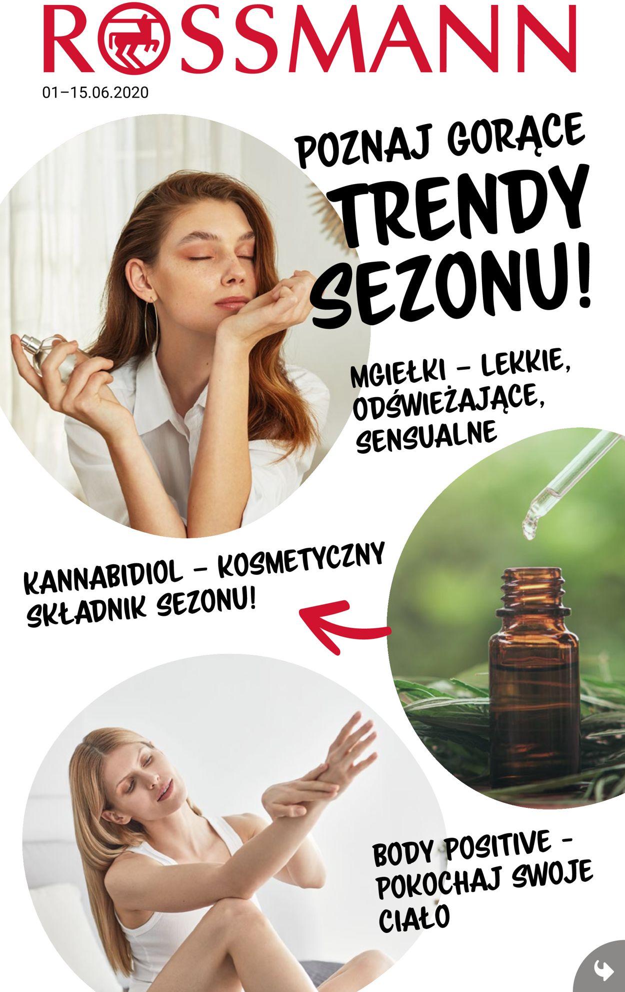 Gazetka promocyjna Rossmann - 01.06-15.06.2020