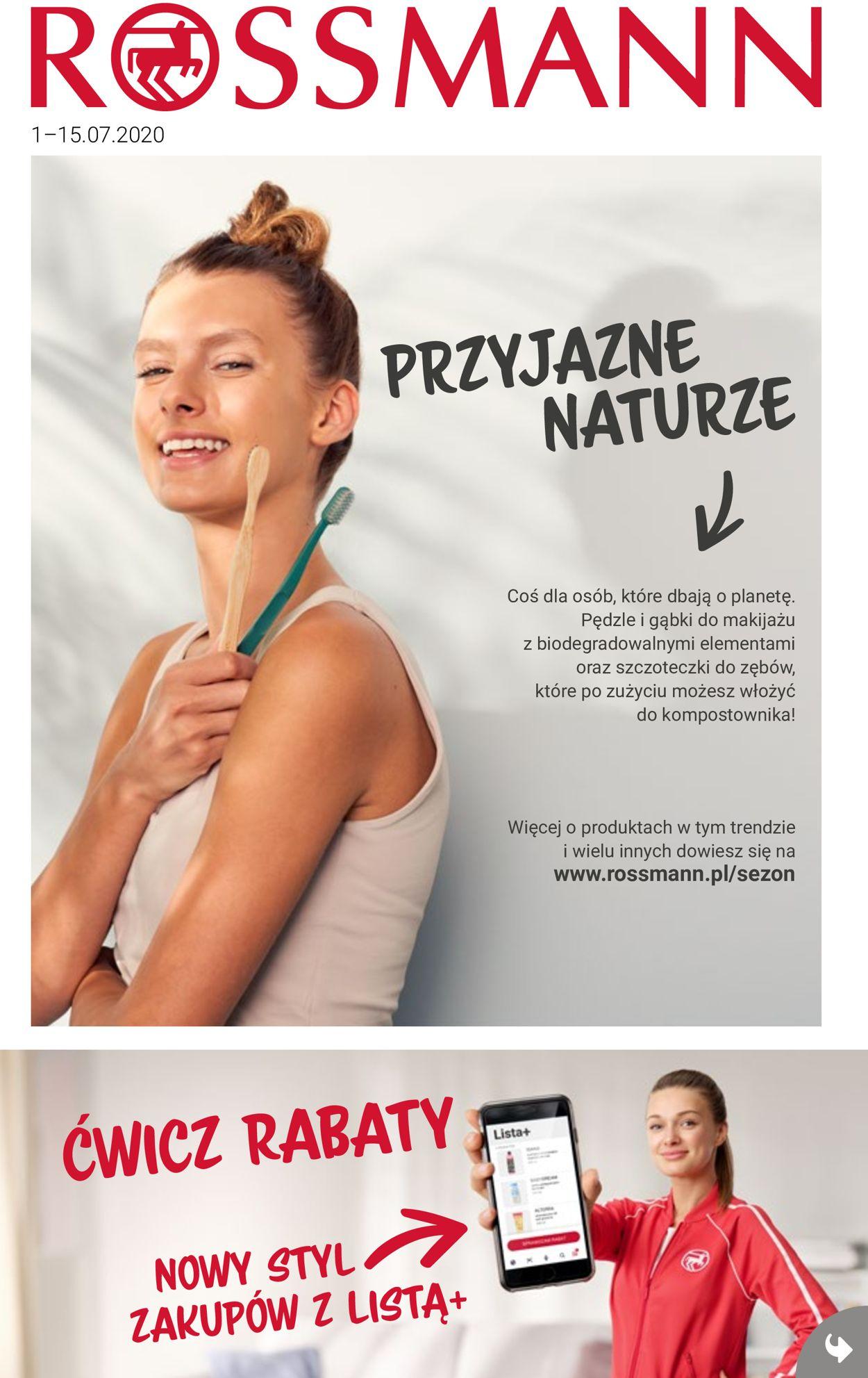 Gazetka promocyjna Rossmann - 01.07-15.07.2020