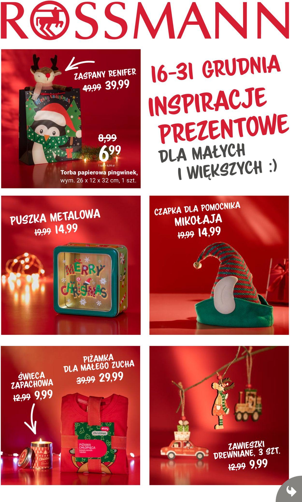 Gazetka promocyjna Rossmann Gazetka Świąteczna 2020 - 16.12-31.12.2020