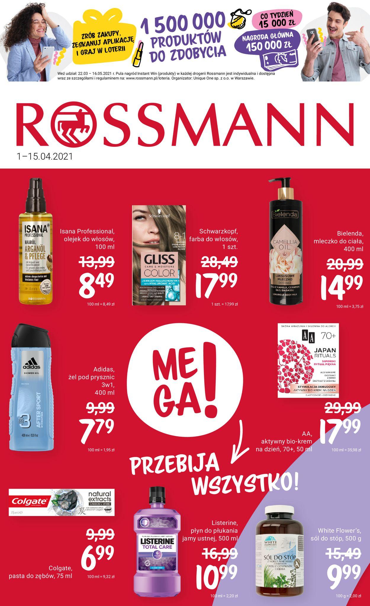Gazetka promocyjna Rossmann - 01.04-15.04.2021