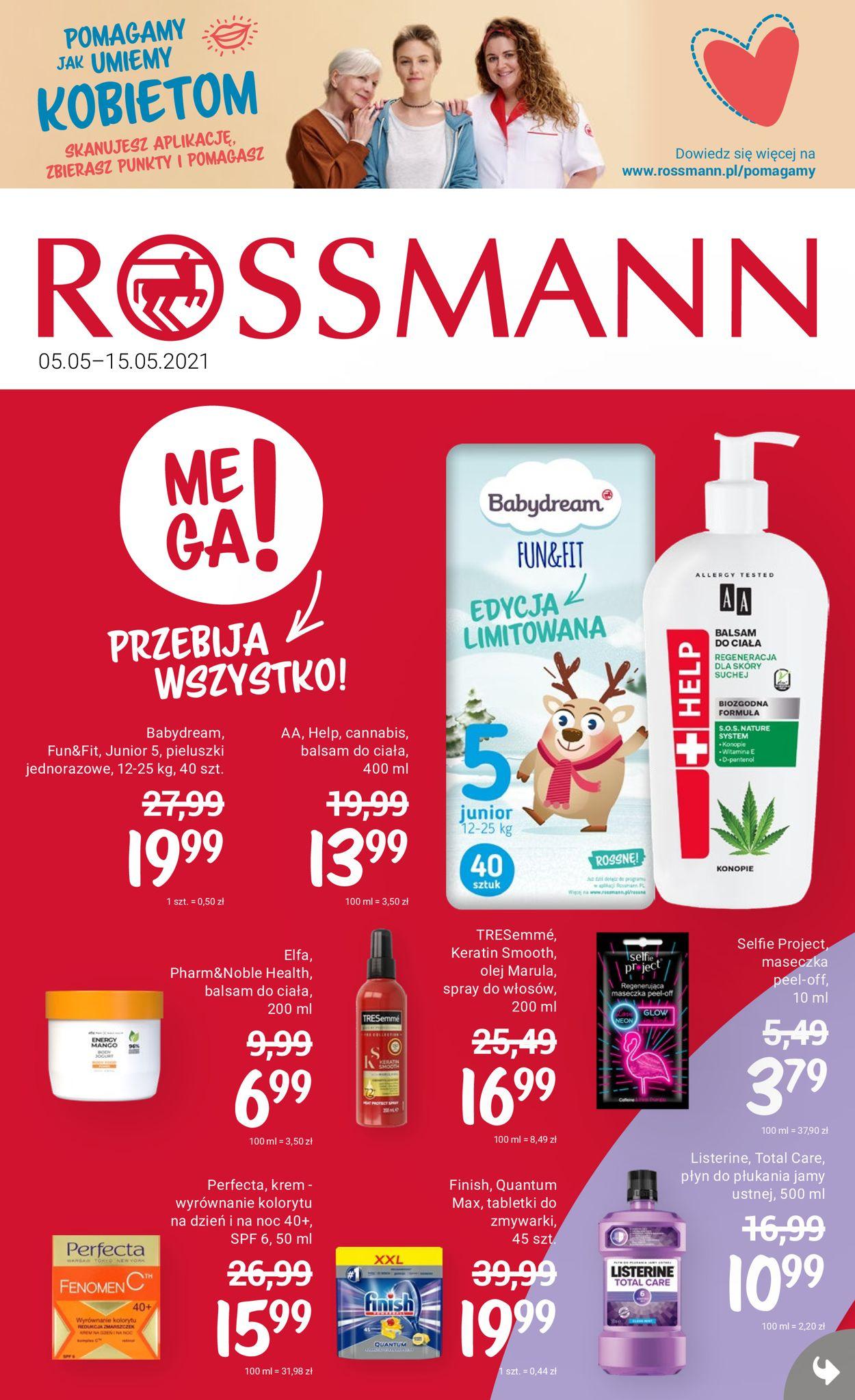 Gazetka promocyjna Rossmann - 05.05-15.05.2021