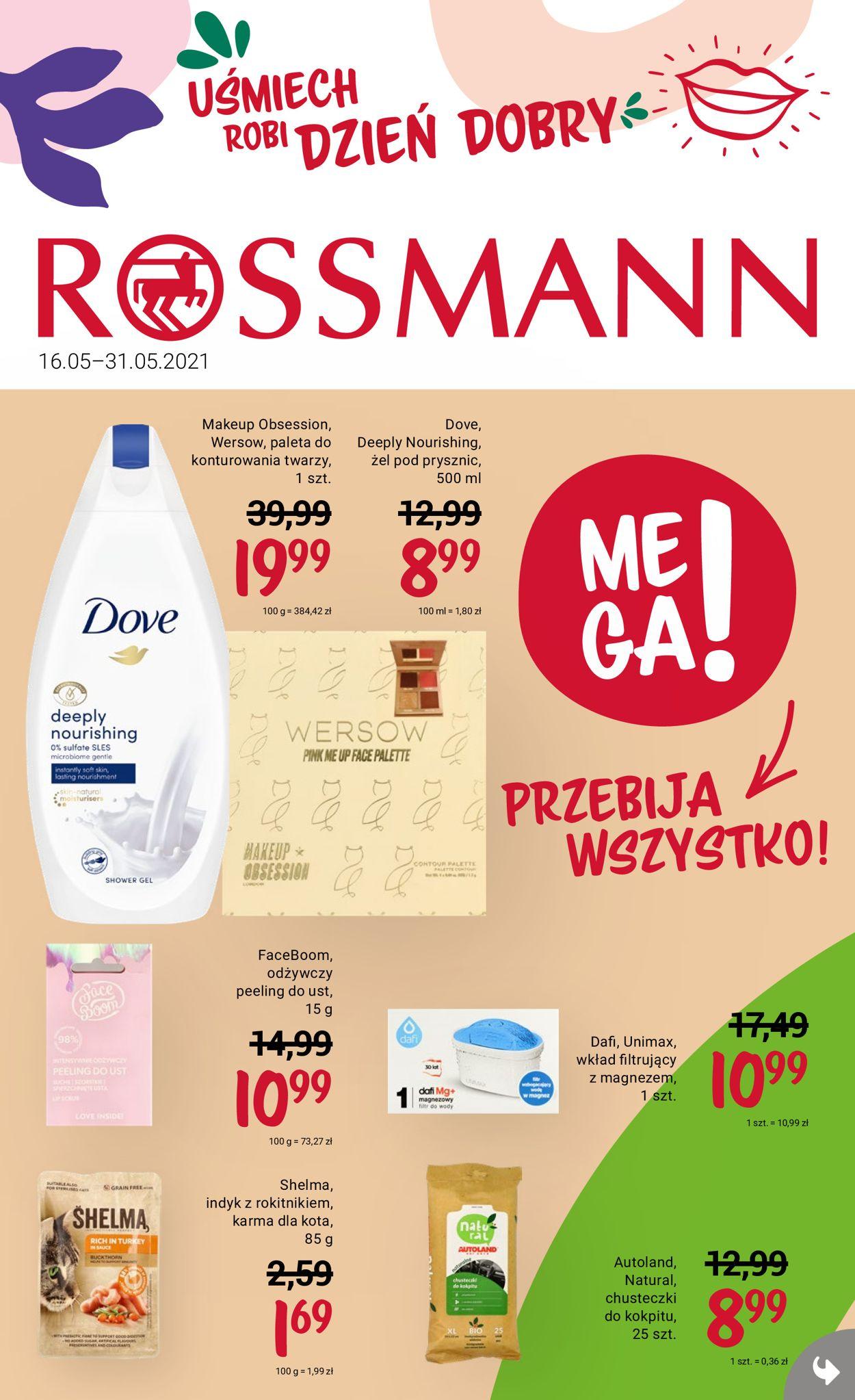 Gazetka promocyjna Rossmann - 16.05-31.05.2021