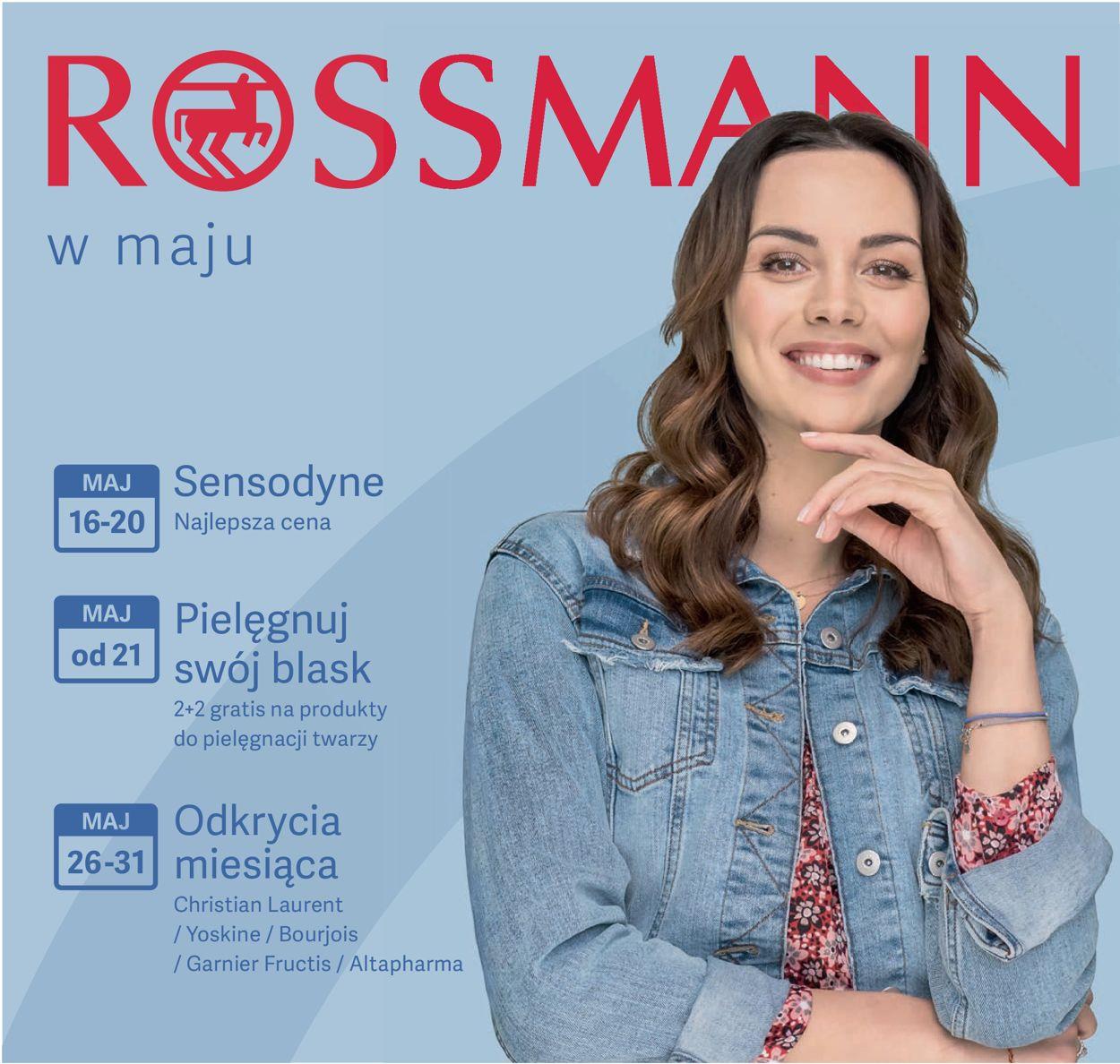 Gazetka promocyjna Rossmann - 16.05-31.05.2019