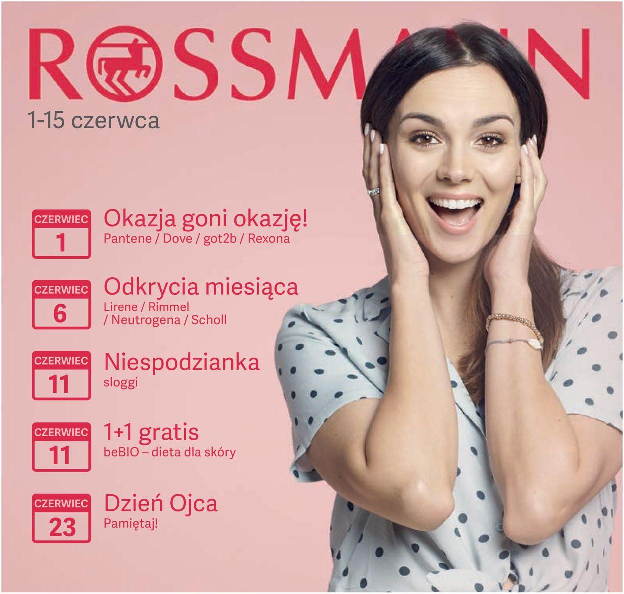 Gazetka promocyjna Rossmann - 01.06-15.06.2019