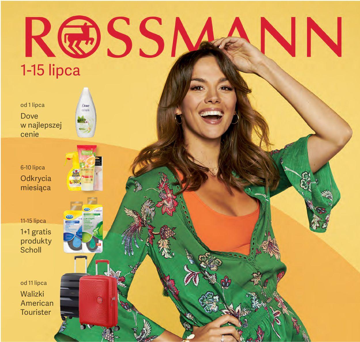 Gazetka promocyjna Rossmann - 01.07-15.07.2019