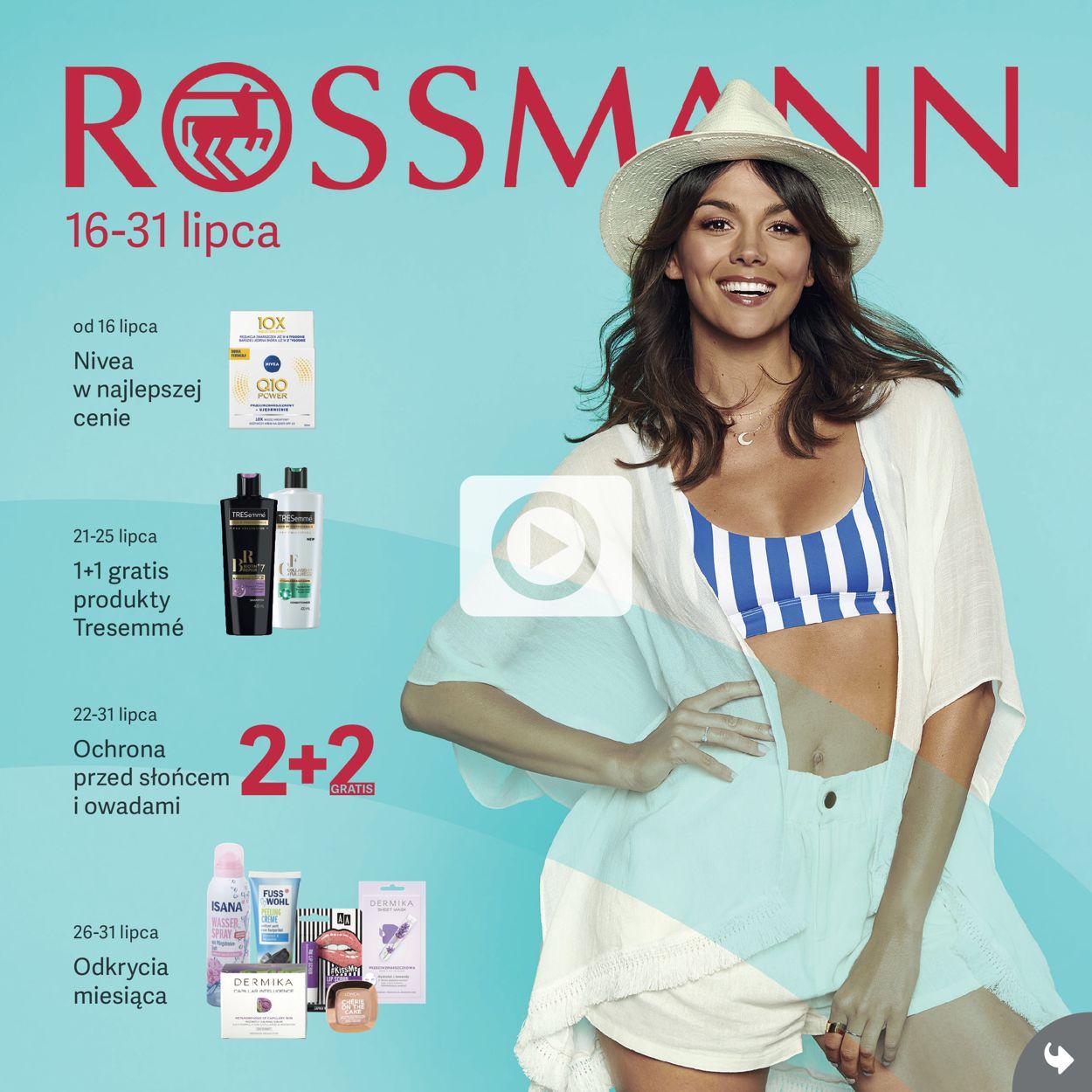 Gazetka promocyjna Rossmann - 16.07-31.07.2019