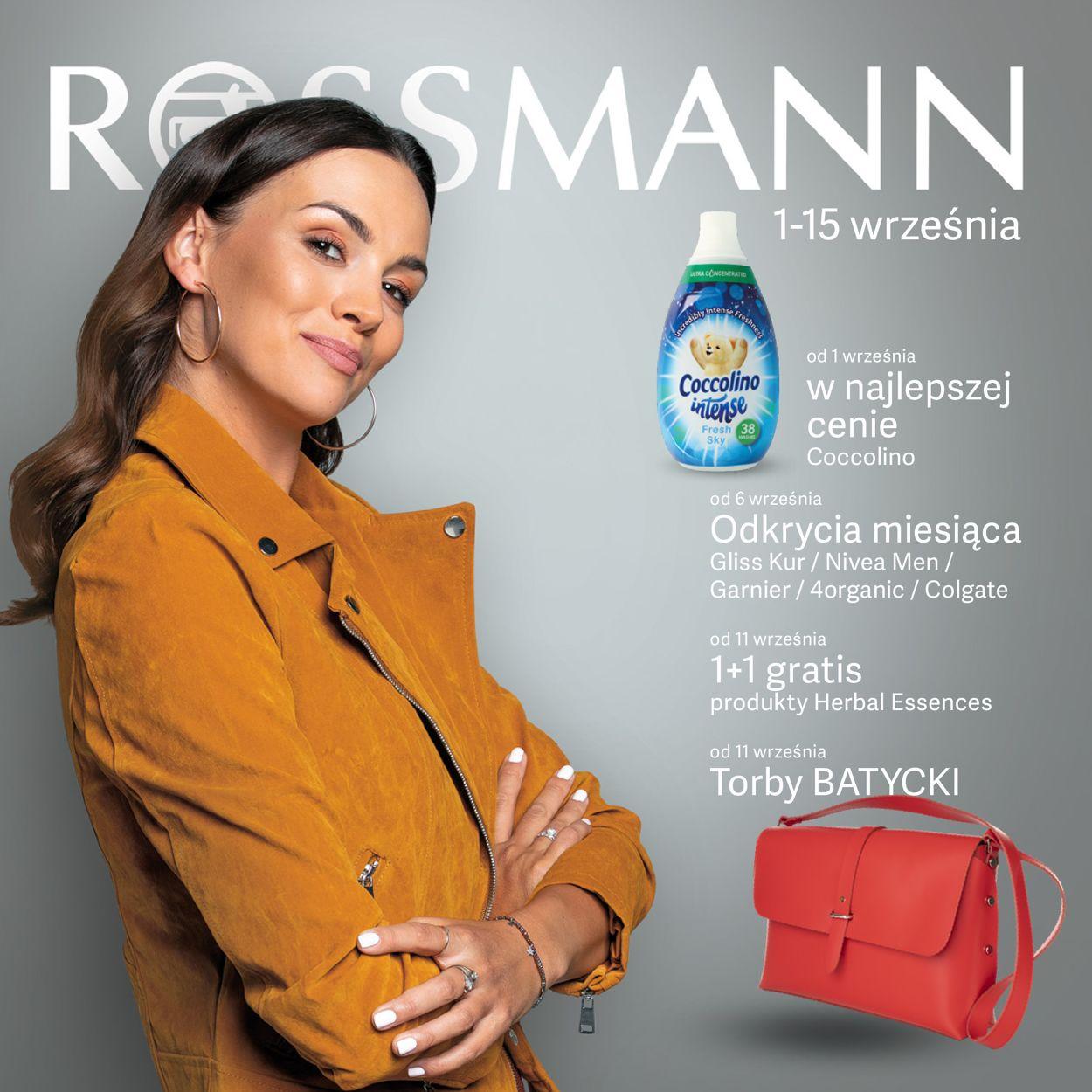 Gazetka promocyjna Rossmann - 01.09-15.09.2019