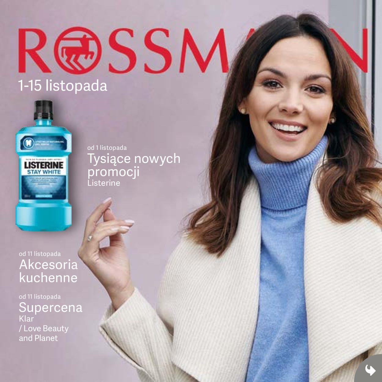 Gazetka promocyjna Rossmann - 01.11-15.11.2019