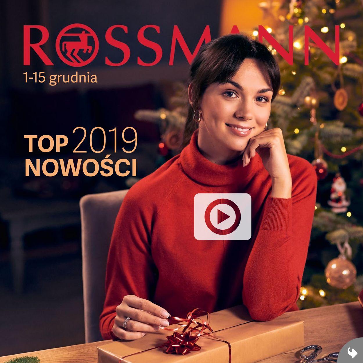 Gazetka promocyjna Rossmann - 01.12-15.12.2019