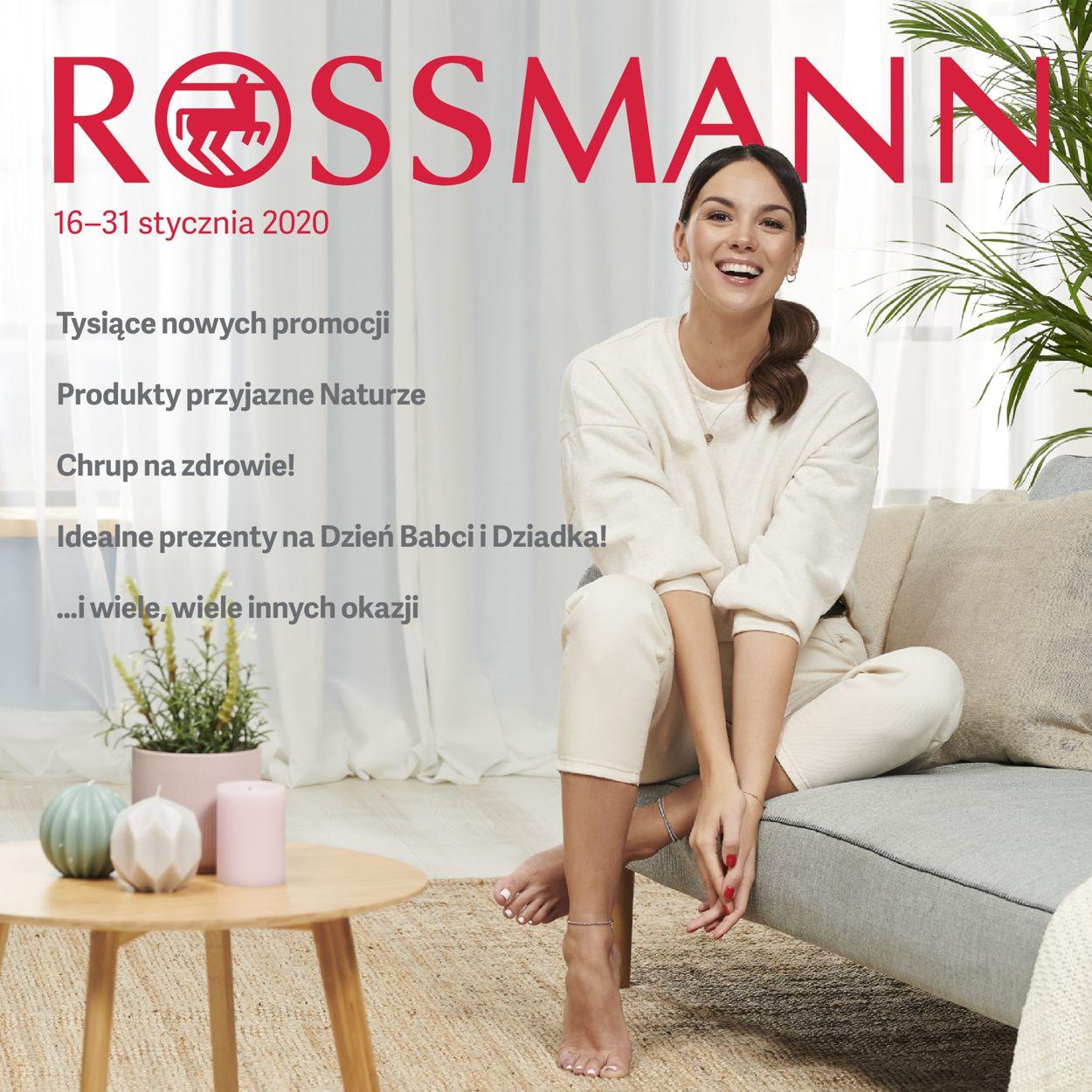 Gazetka promocyjna Rossmann - 16.01-31.01.2020