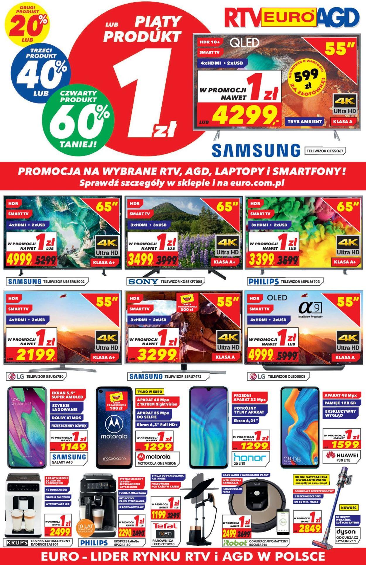 Gazetka promocyjna RTV Euro AGD - 31.05-01.07.2019