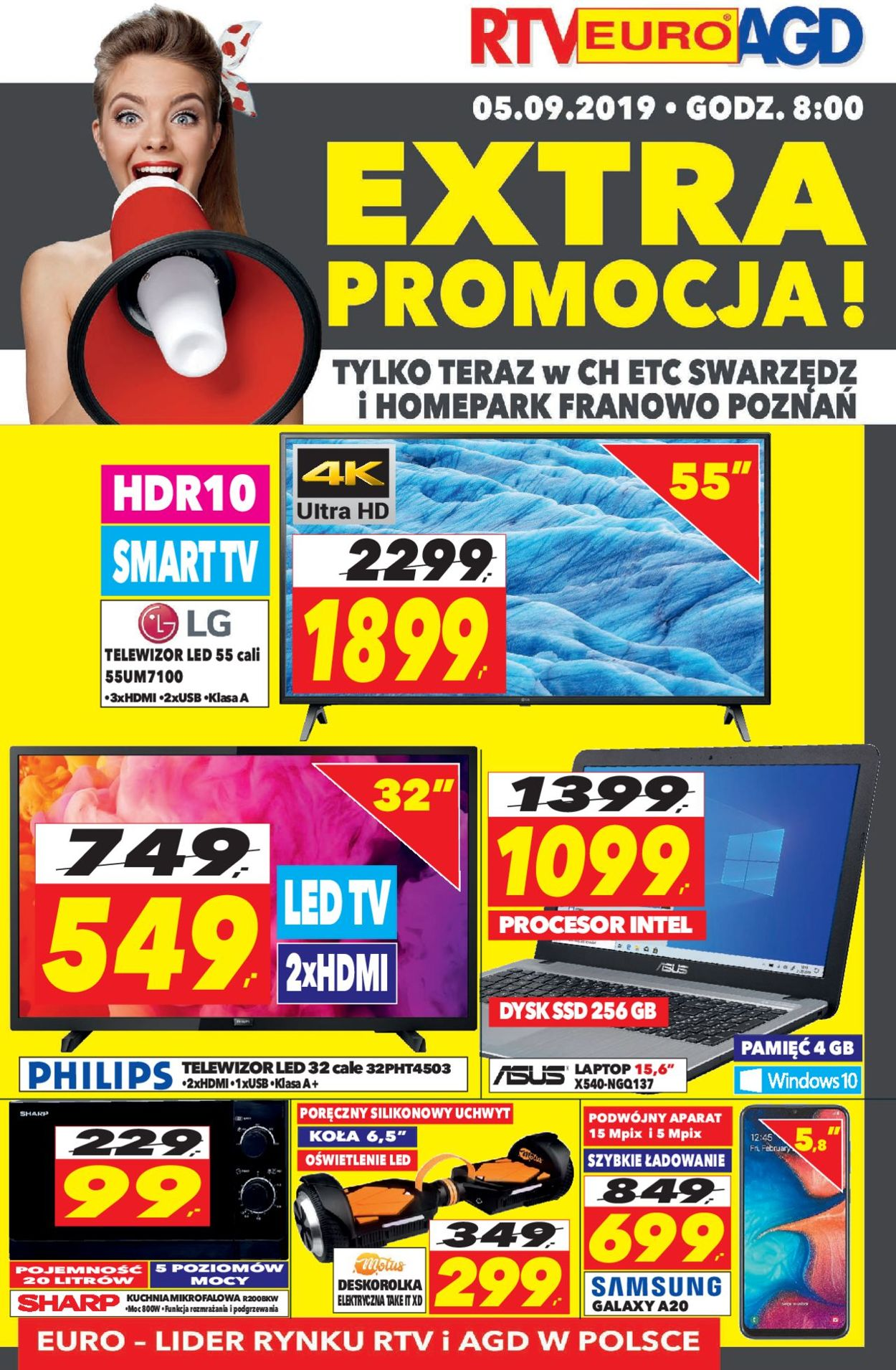 Gazetka promocyjna RTV Euro AGD - 05.09-05.09.2019