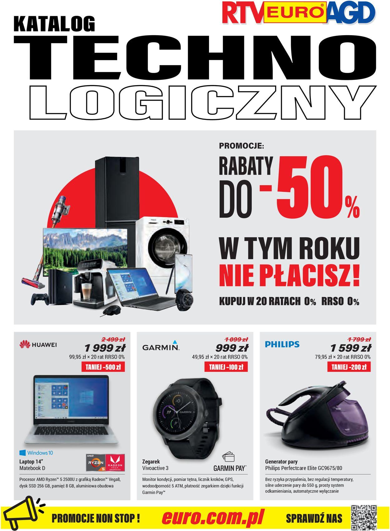Gazetka promocyjna RTV Euro AGD - 30.08-30.09.2019