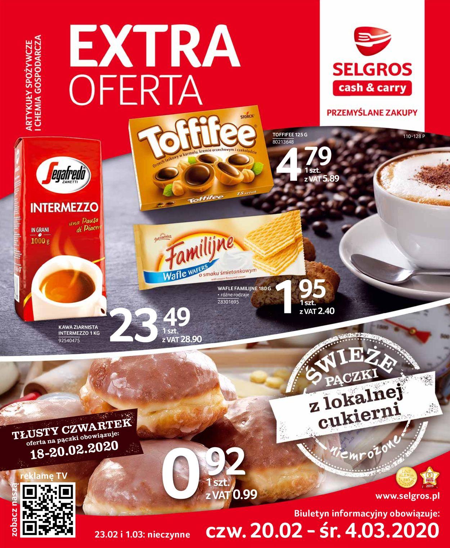 Gazetka promocyjna Selgros - 20.02-04.03.2020