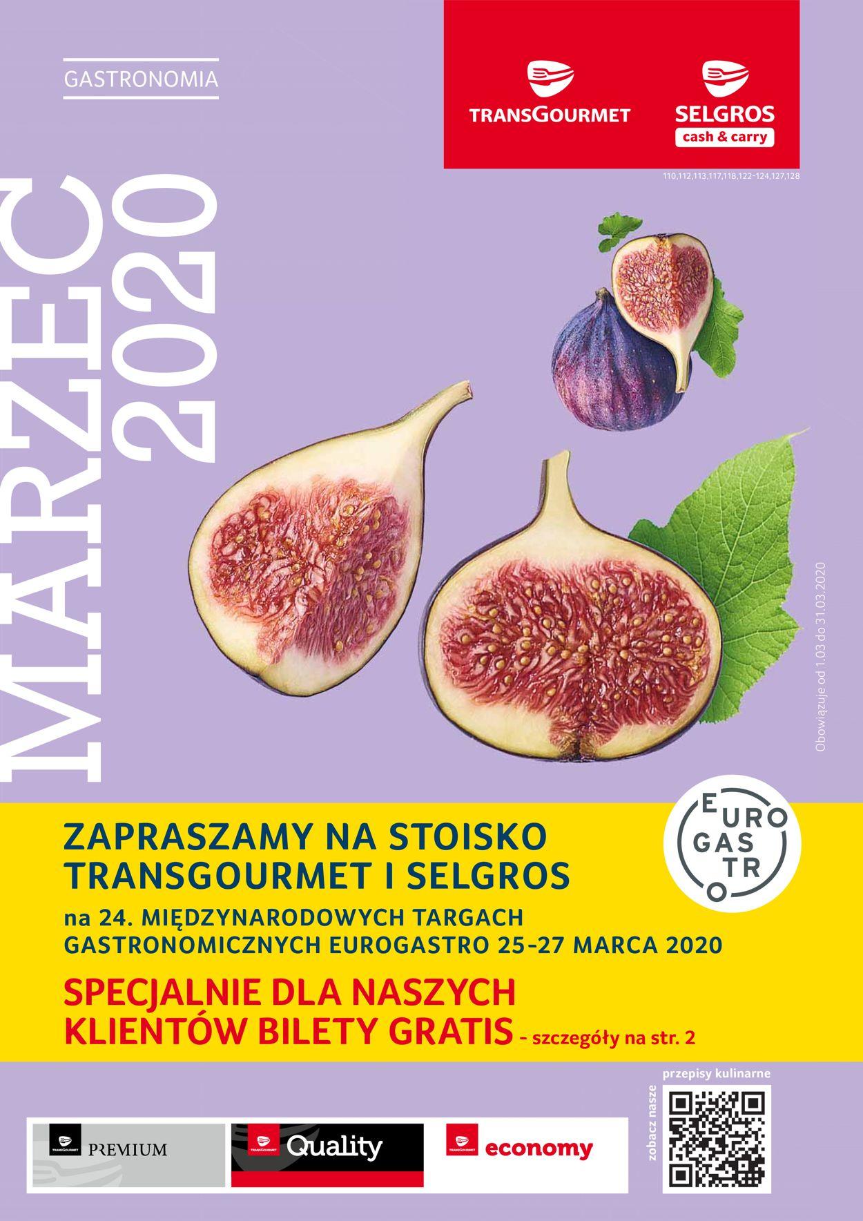 Gazetka promocyjna Selgros - 01.03-31.03.2020