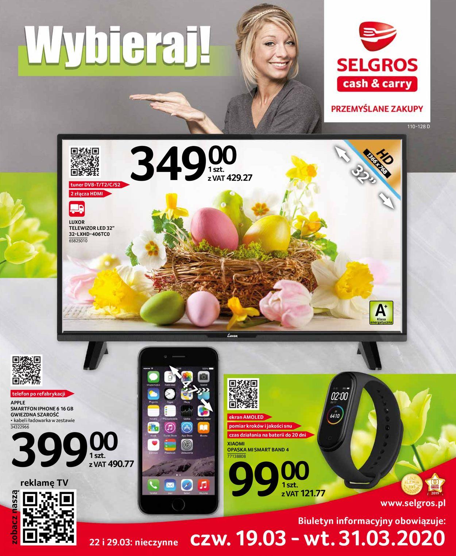 Gazetka promocyjna Selgros - 19.03-31.03.2020