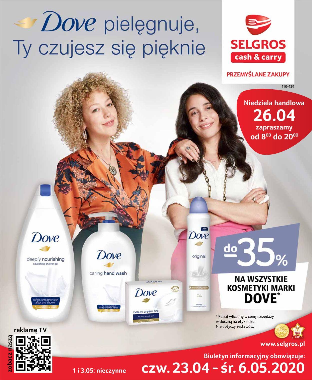 Gazetka promocyjna Selgros - 23.04-06.05.2020