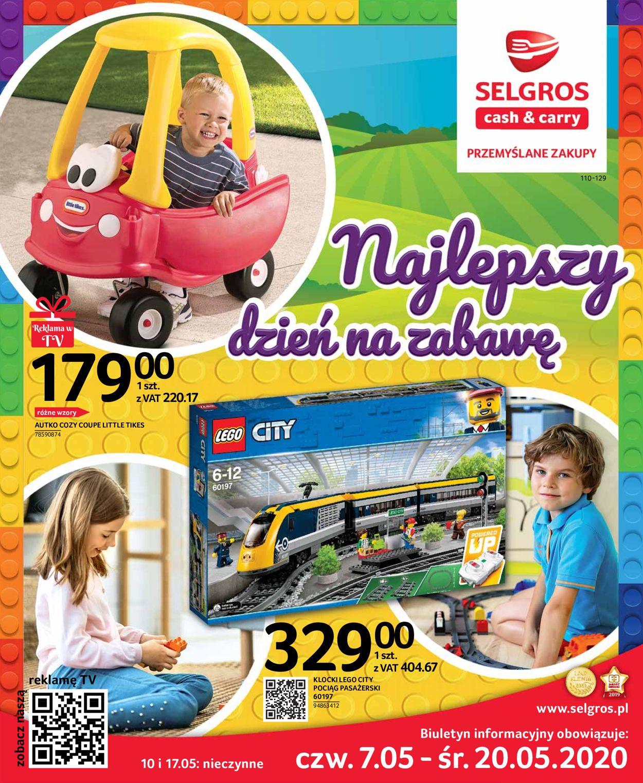 Gazetka promocyjna Selgros - 07.05-20.05.2020